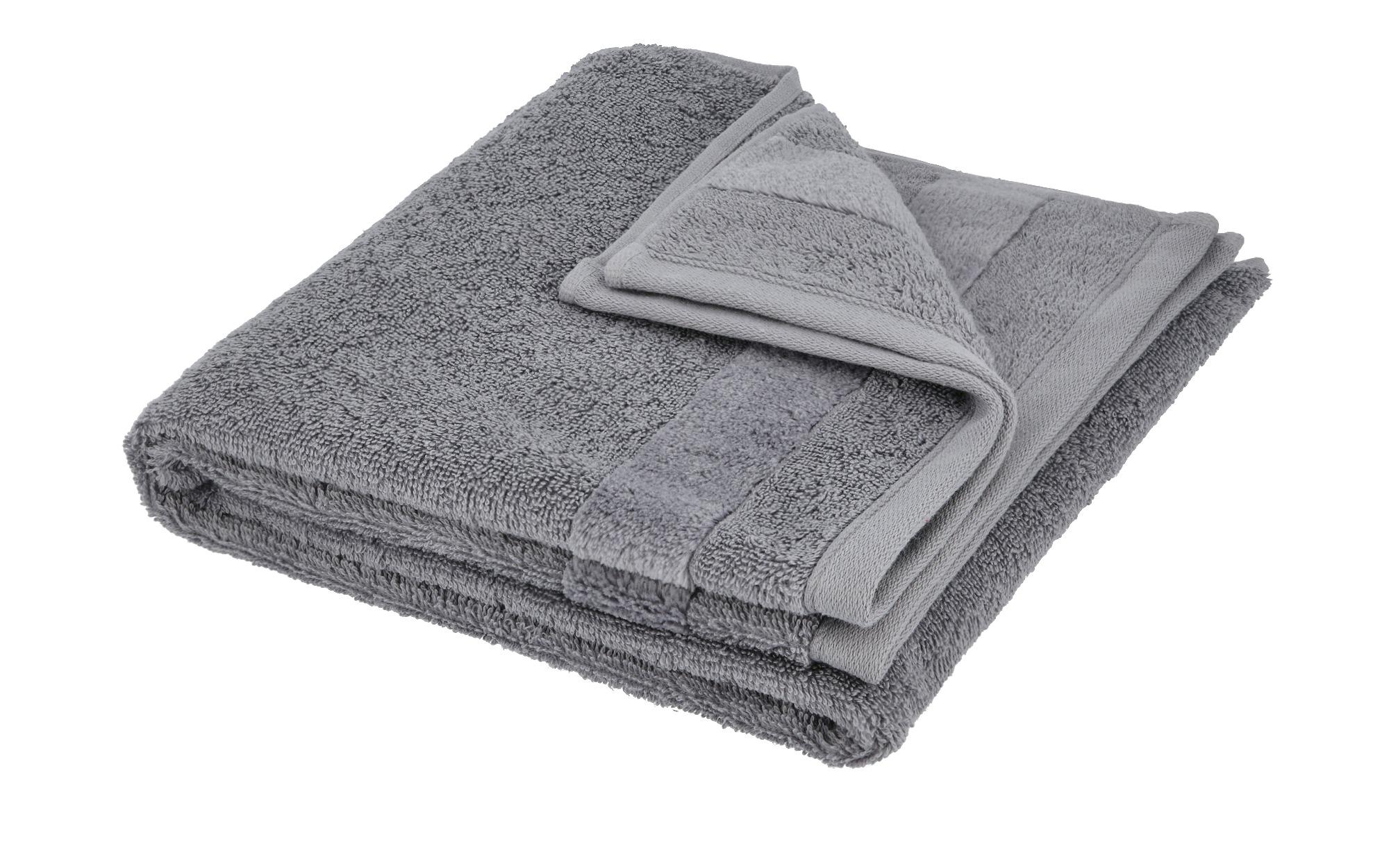Ross Handtuch  4005 ¦ grau ¦ 100% Baumwolle Badtextilien und Zubehör > Handtücher & Badetücher > Handtücher - Höffner