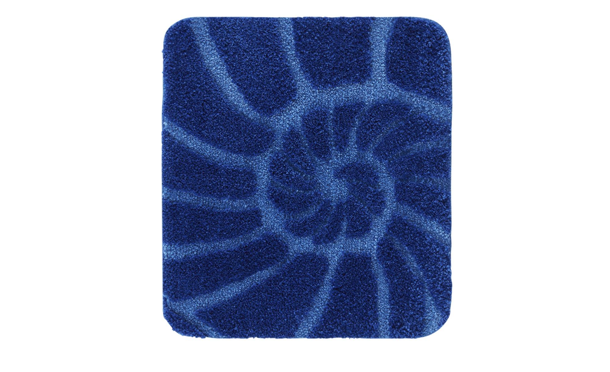 Kleine Wolke Badteppich  Muschel ¦ blau ¦ 100% Polyester Badtextilien und Zubehör > Badematten & Badvorleger - Höffner