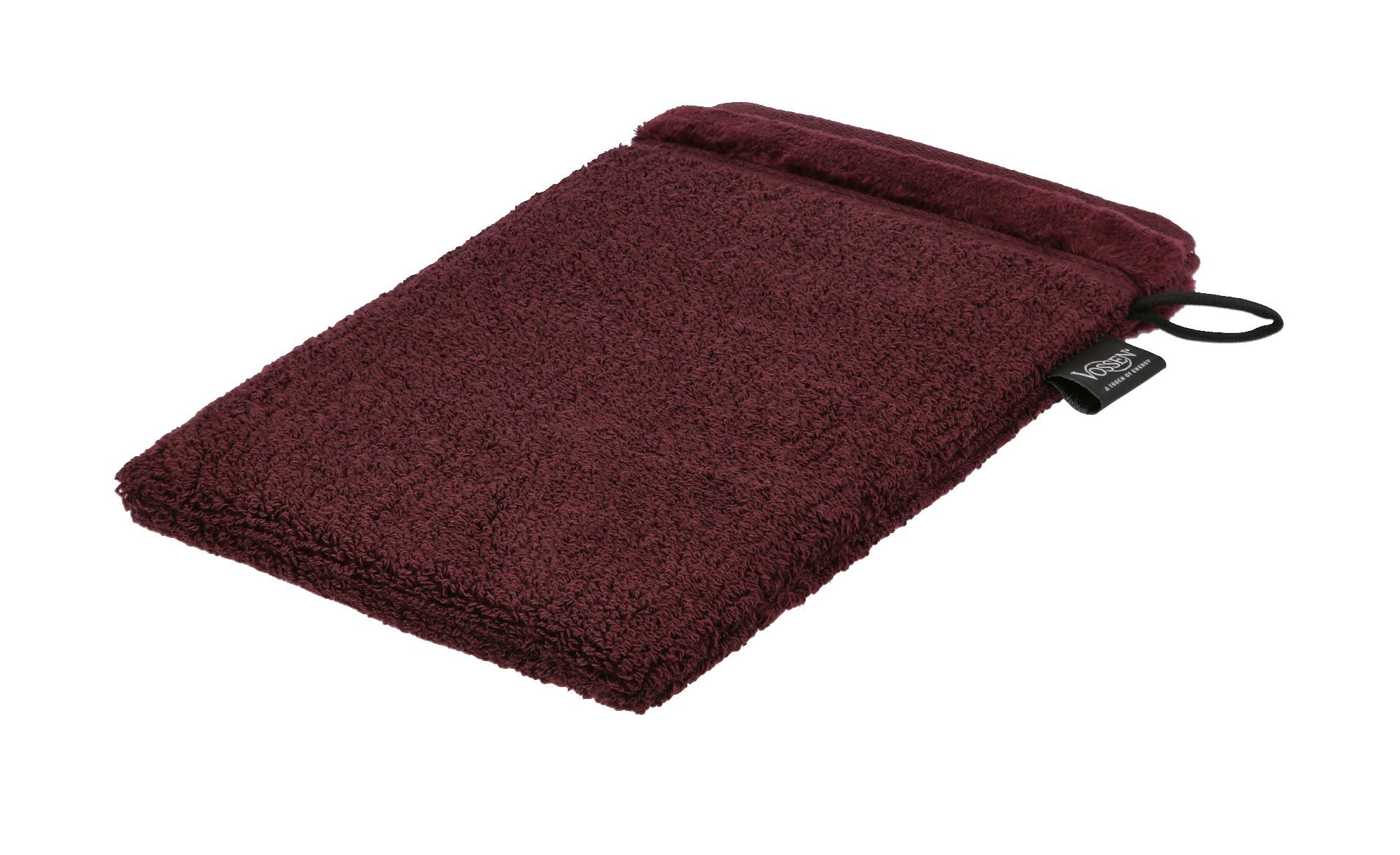 VOSSEN Waschhandschuh  Pure ¦ lila/violett ¦ 100% Bio-Baumwolle ¦ Maße (cm): B: 16 Badtextilien und Zubehör > Handtücher & Badetücher > Handtücher - Höffner