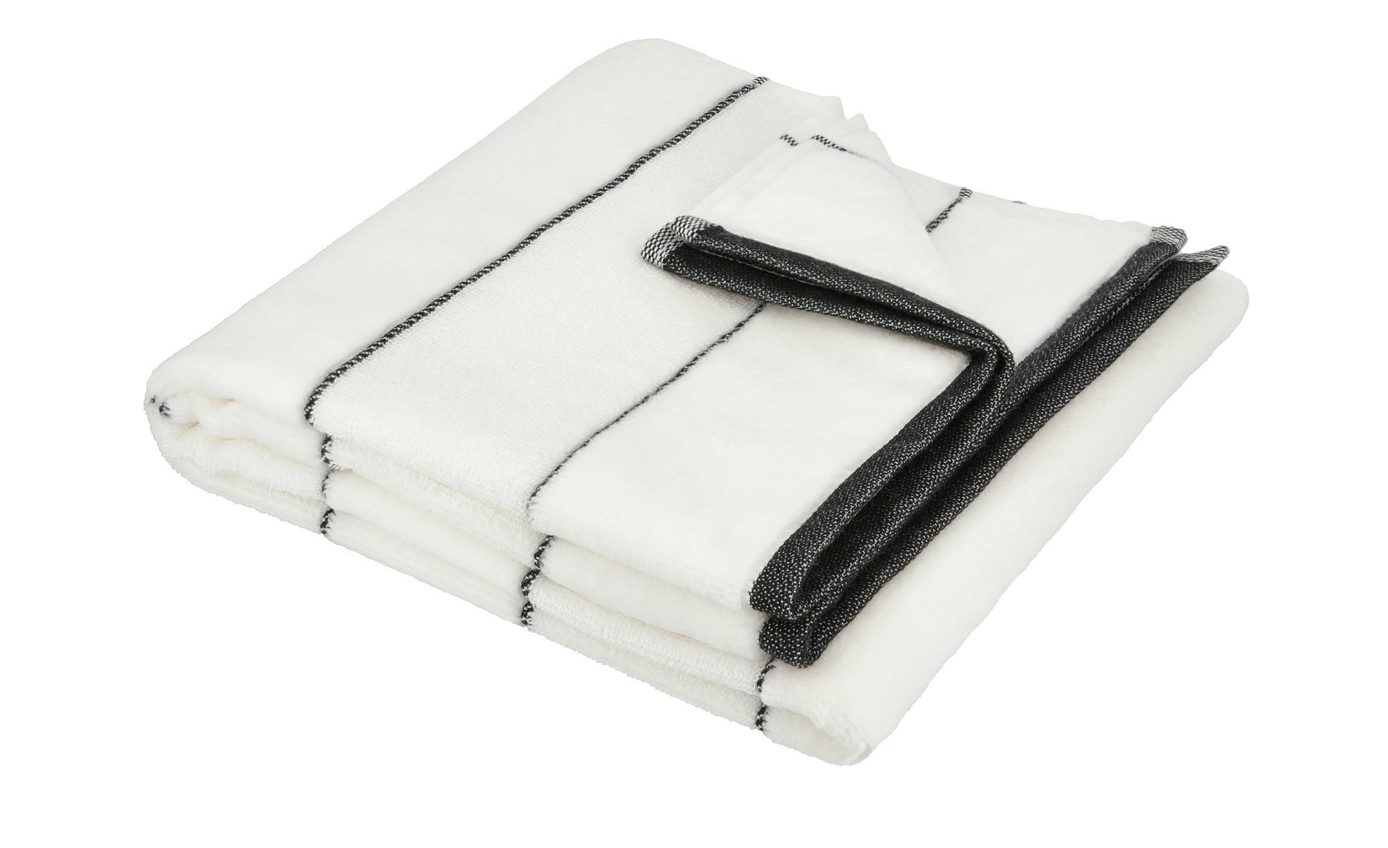 VOSSEN Handtuch  Maxim ¦ weiß ¦ 90% Bio-Baumwolle, 10% Polyester Badtextilien und Zubehör > Handtücher & Badetücher > Handtücher - Höffner