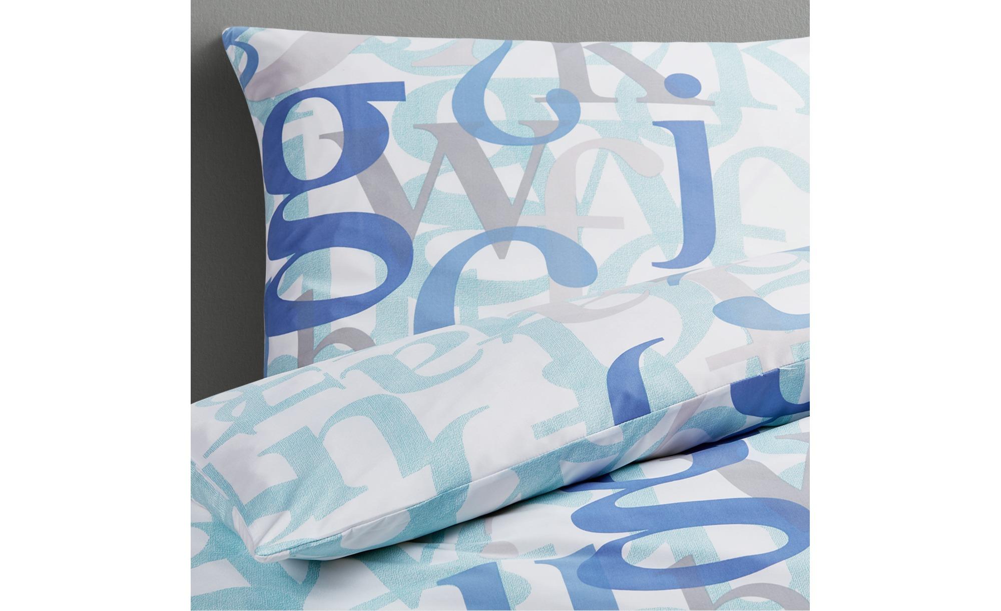 Blau Microfaser Bettwäsche Garnituren Online Kaufen Möbel