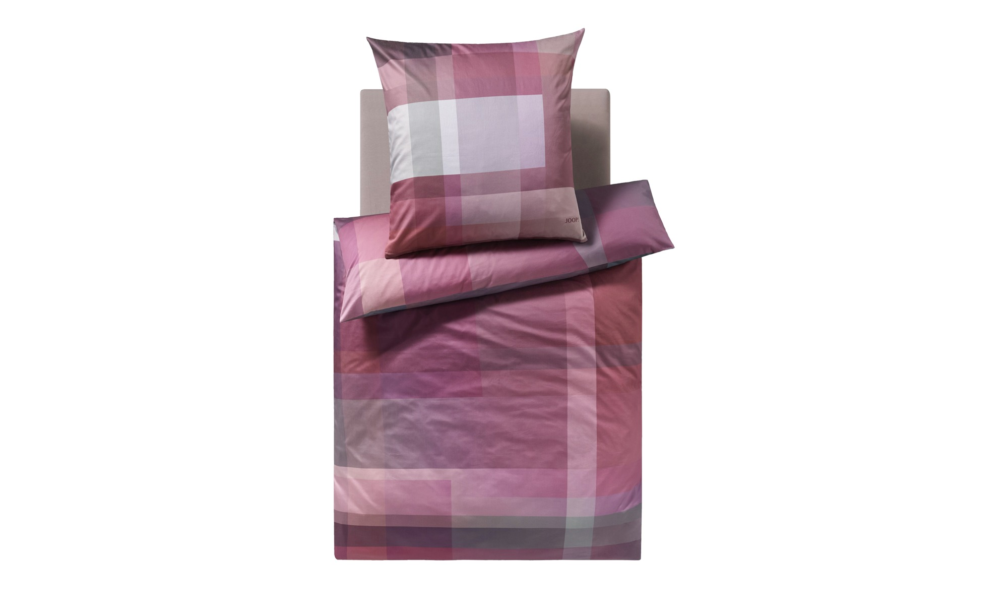 Joop Mako Satin Bettwäsche 4080 Joop Glow Pink Rosa 135x200