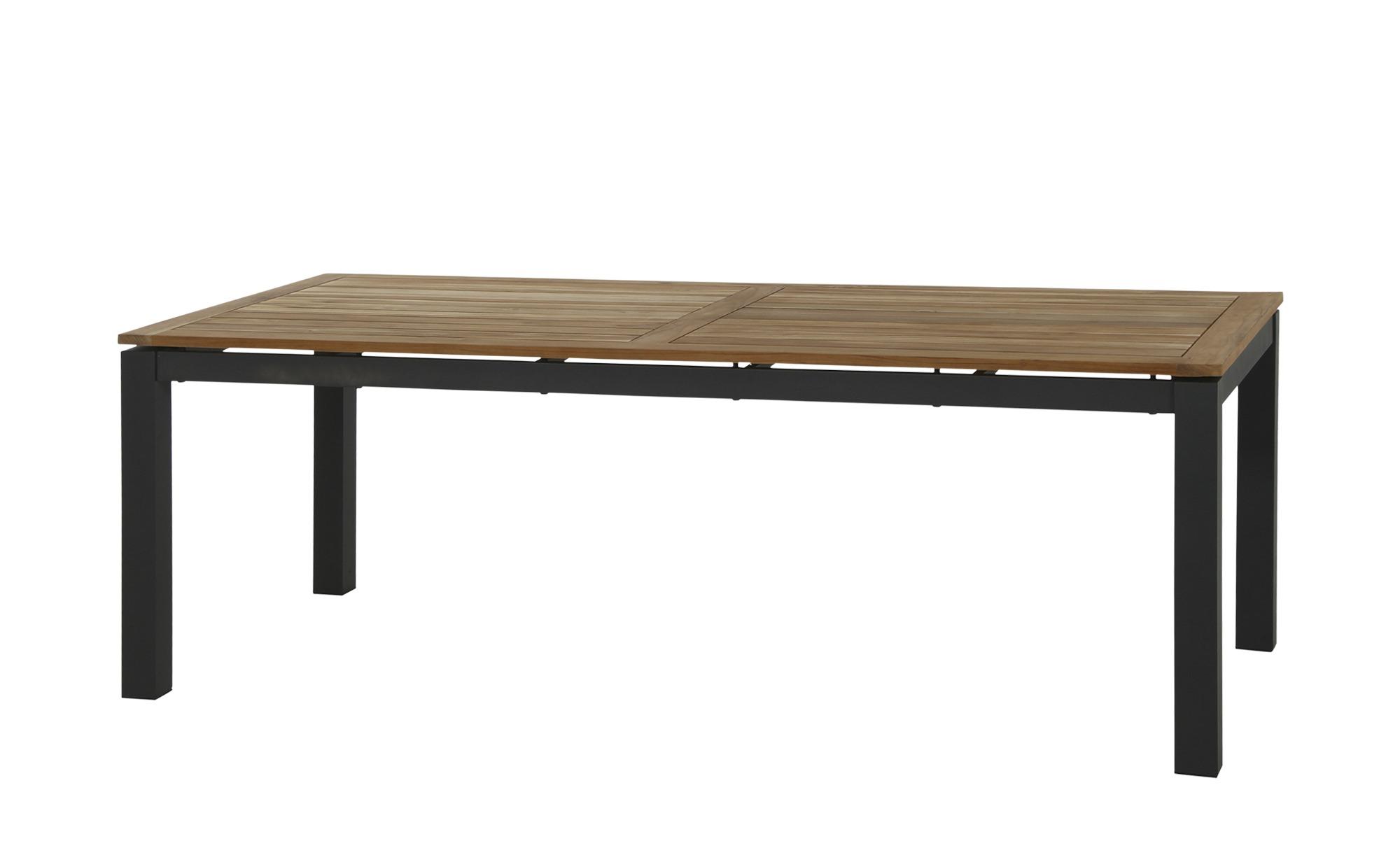 Tisch   Varina ¦ schwarz ¦ Maße (cm): B: 100 H: 75 Garten > Gartenmöbel > Gartentische - Höffner