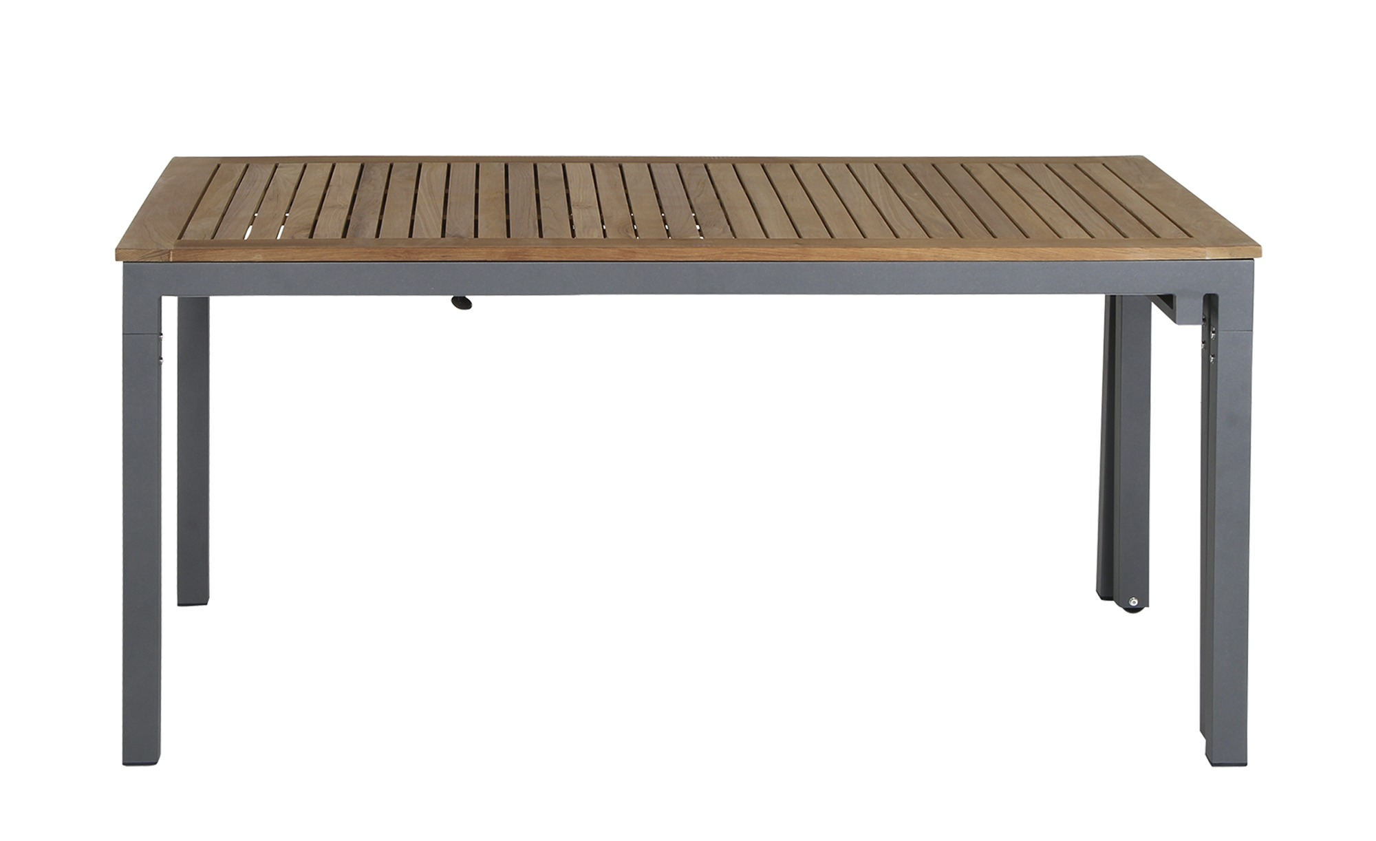 Tisch   Geneva ¦ grau ¦ Maße (cm): B: 90 H: 76 Garten > Gartenmöbel > Gartentische - Höffner