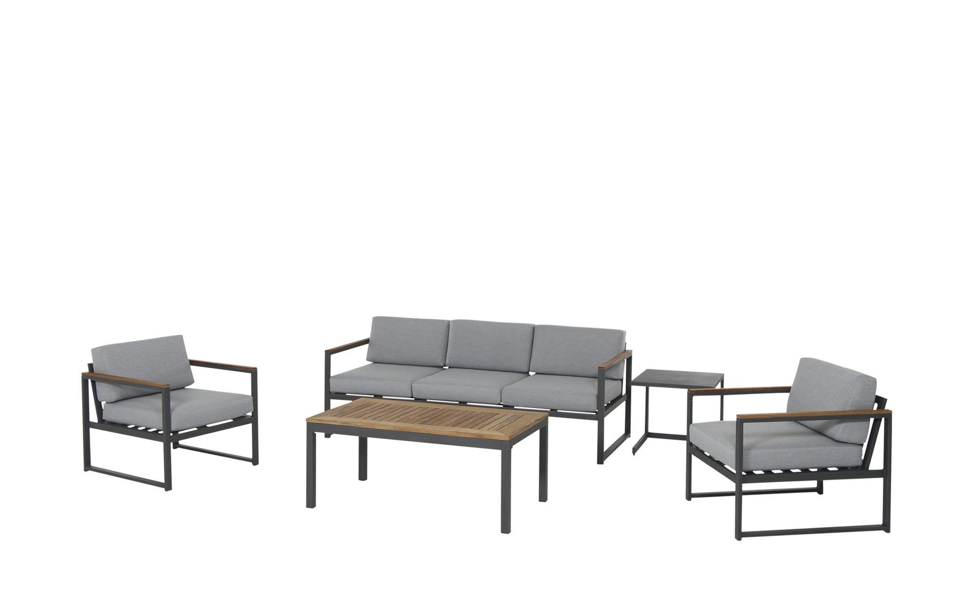 Loungeset   Campo ¦ grau Garten > Gartenmöbel > Gartenmöbel Sets - Höffner