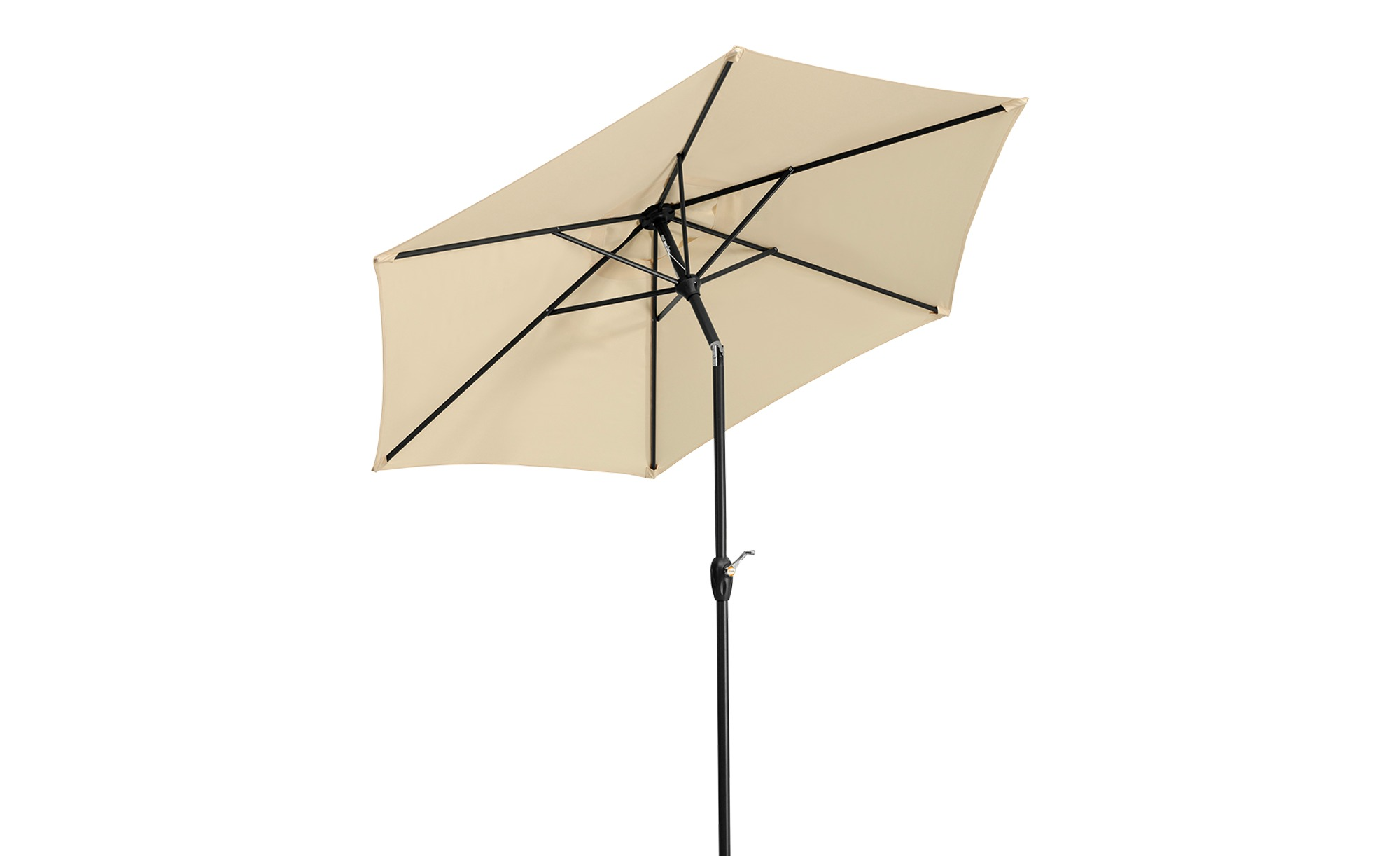 Sonnenschirm  Bilbao ¦ cremeØ: 220 Garten > Sonnenschutz > Sonnenschirme - Höffner