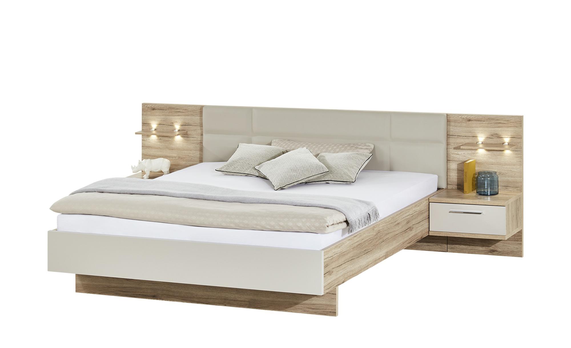 uno Komplett-Schlafzimmer, 4-teilig   Paris ¦ holzfarben ¦ Maße (cm): B: 282 H: 226 T: 60 Komplett-Schlafzimmer - Höffner