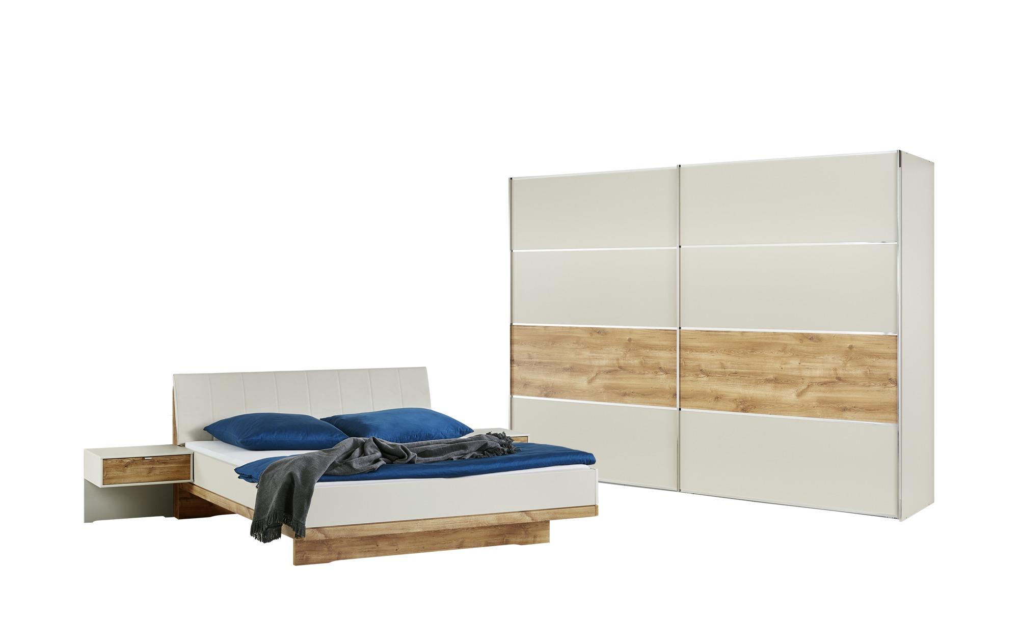 uno Komplett-Schlafzimmer 4-teilig  Catania ¦ holzfarben ¦ Maße (cm): B: 250 H: 216 T: 67 Komplett-Schlafzimmer - Höffner