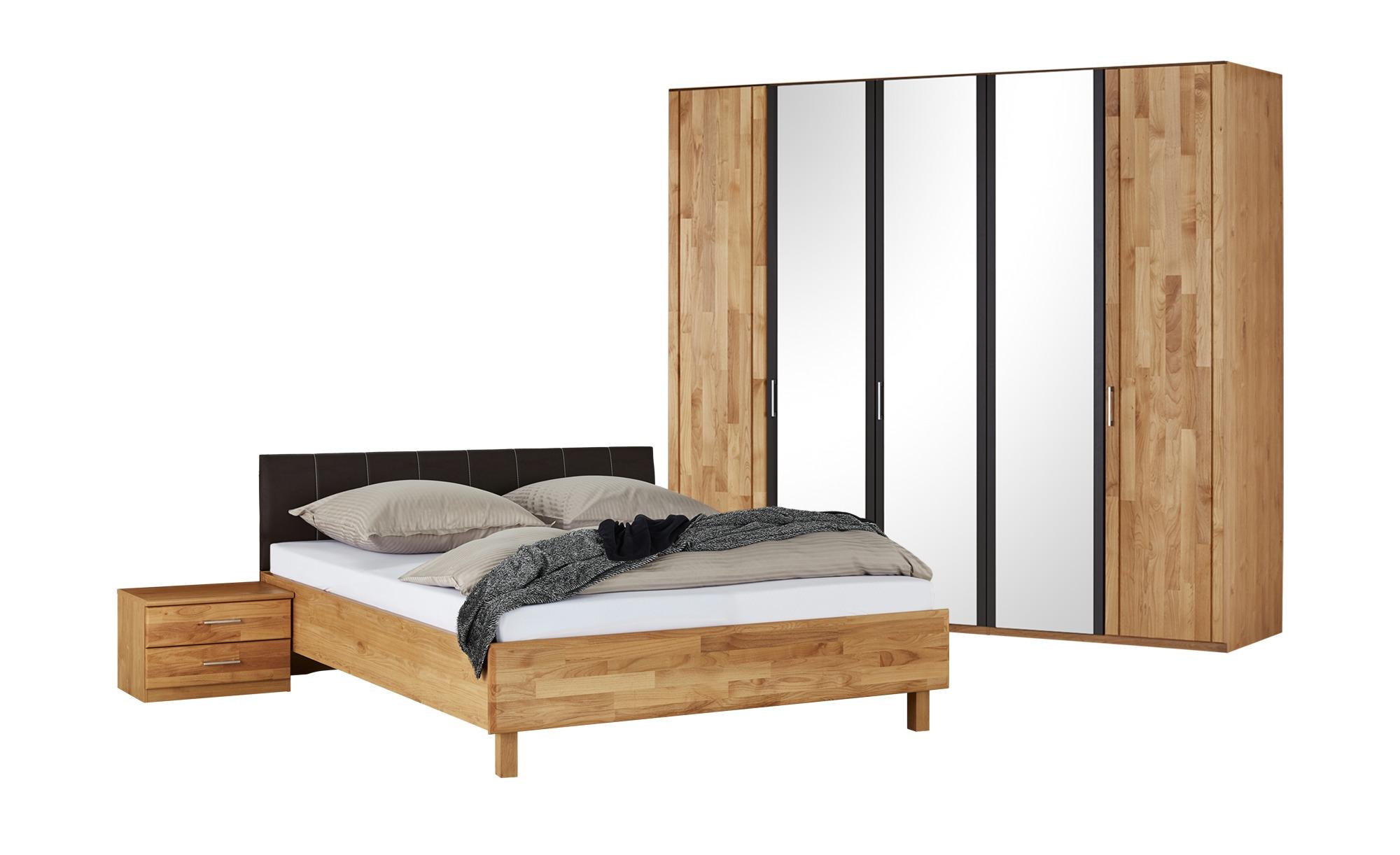 Woodford Komplettschlafzimmer 4-teilig  Orlando 2 ¦ holzfarben Komplett-Schlafzimmer - Höffner