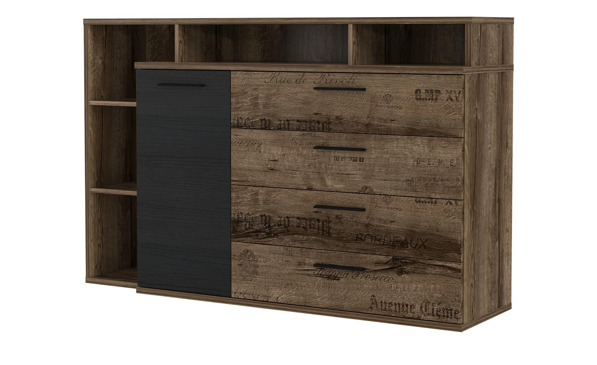 Sideboard  Jedburgh ¦ holzfarben ¦ Maße (cm): B: 153,1 H: 98,5 T: 41,3 Kommoden & Sideboards > Sideboards - Höffner