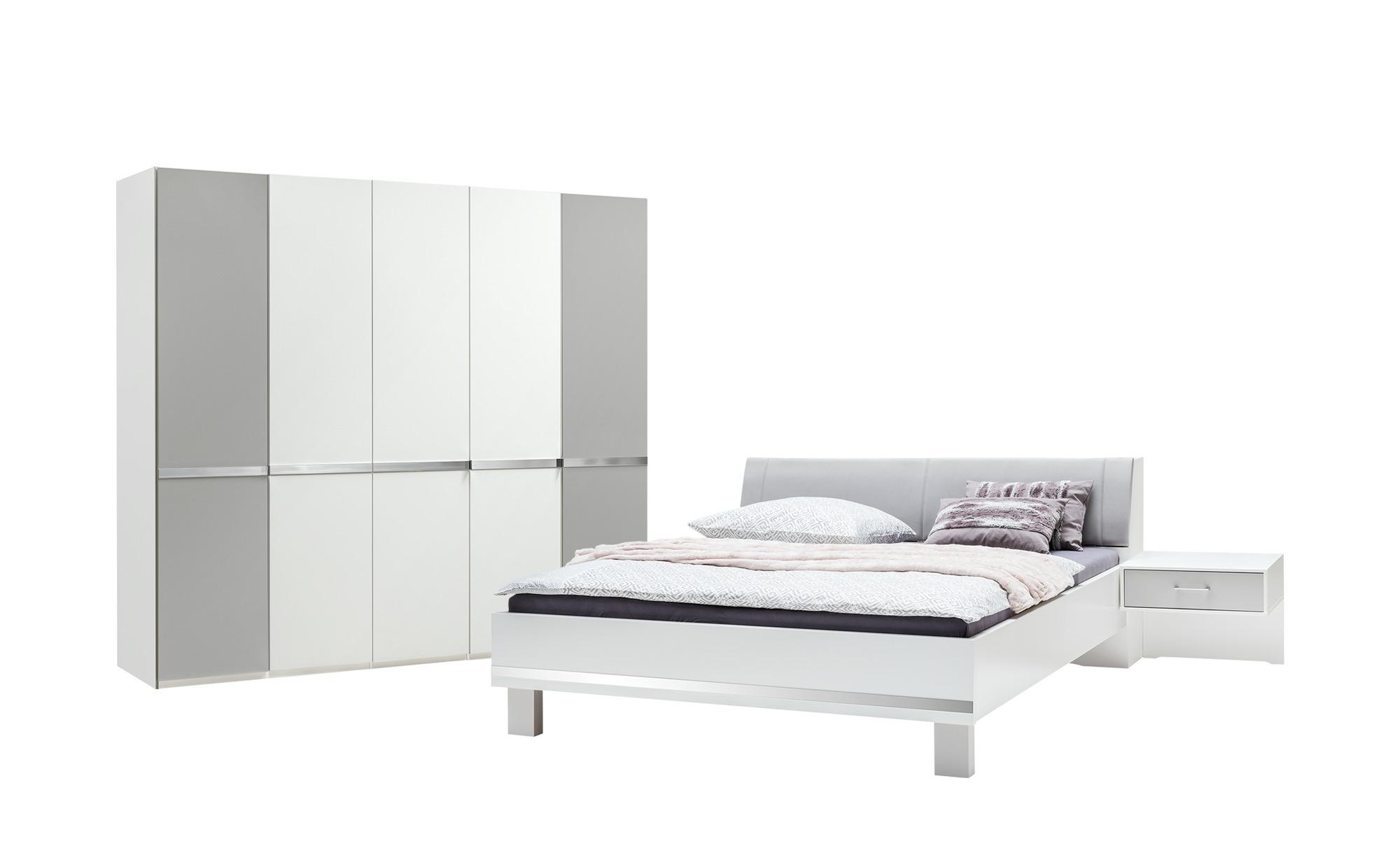 Uno Schlafzimmer 4 Teilig Paderborn Mit Bettkasten Im Kopfteil 180x200 Cm