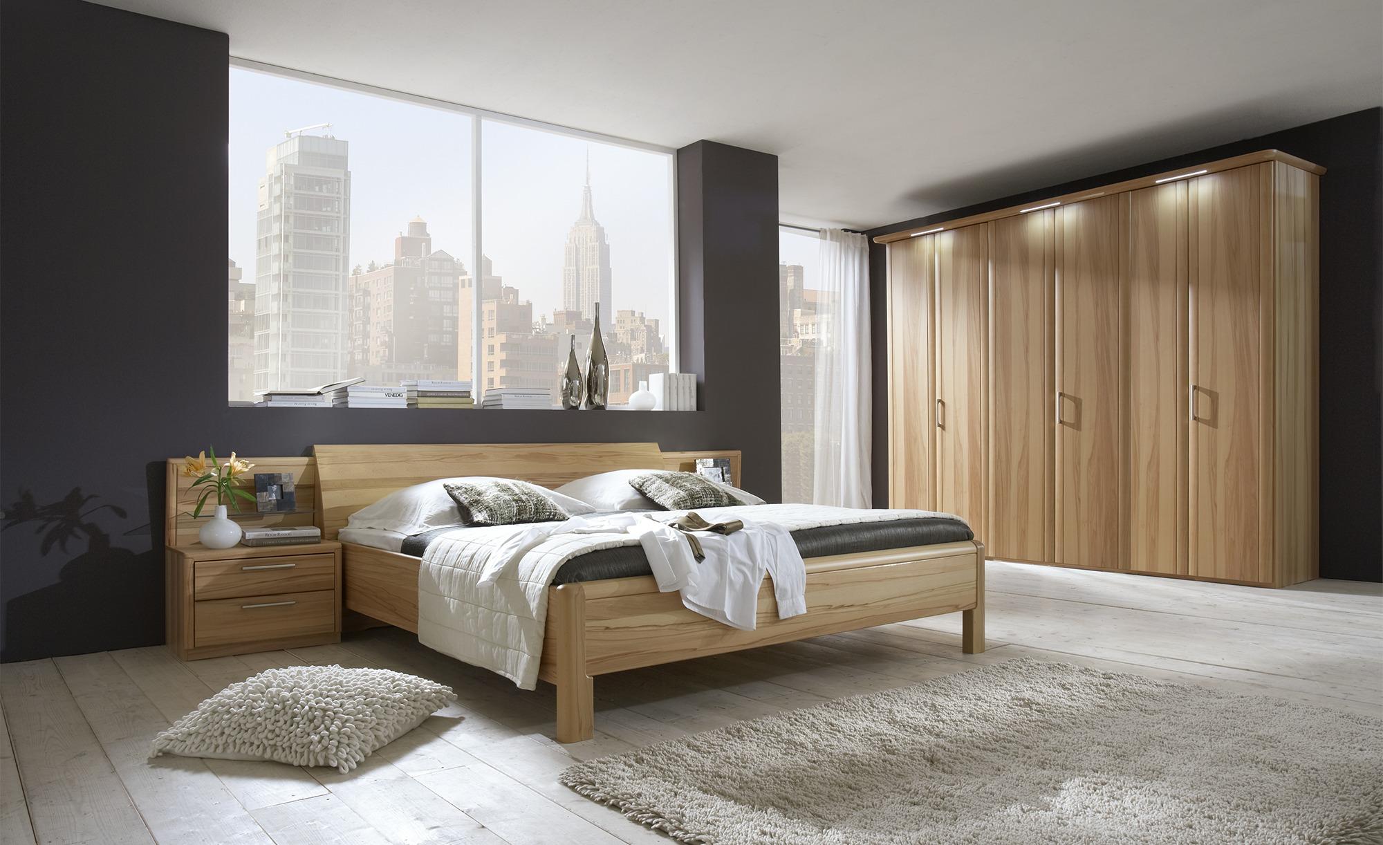Komplett-Schlafzimmer, 4-teilig  Coretta ¦ holzfarben Komplett-Schlafzimmer - Höffner