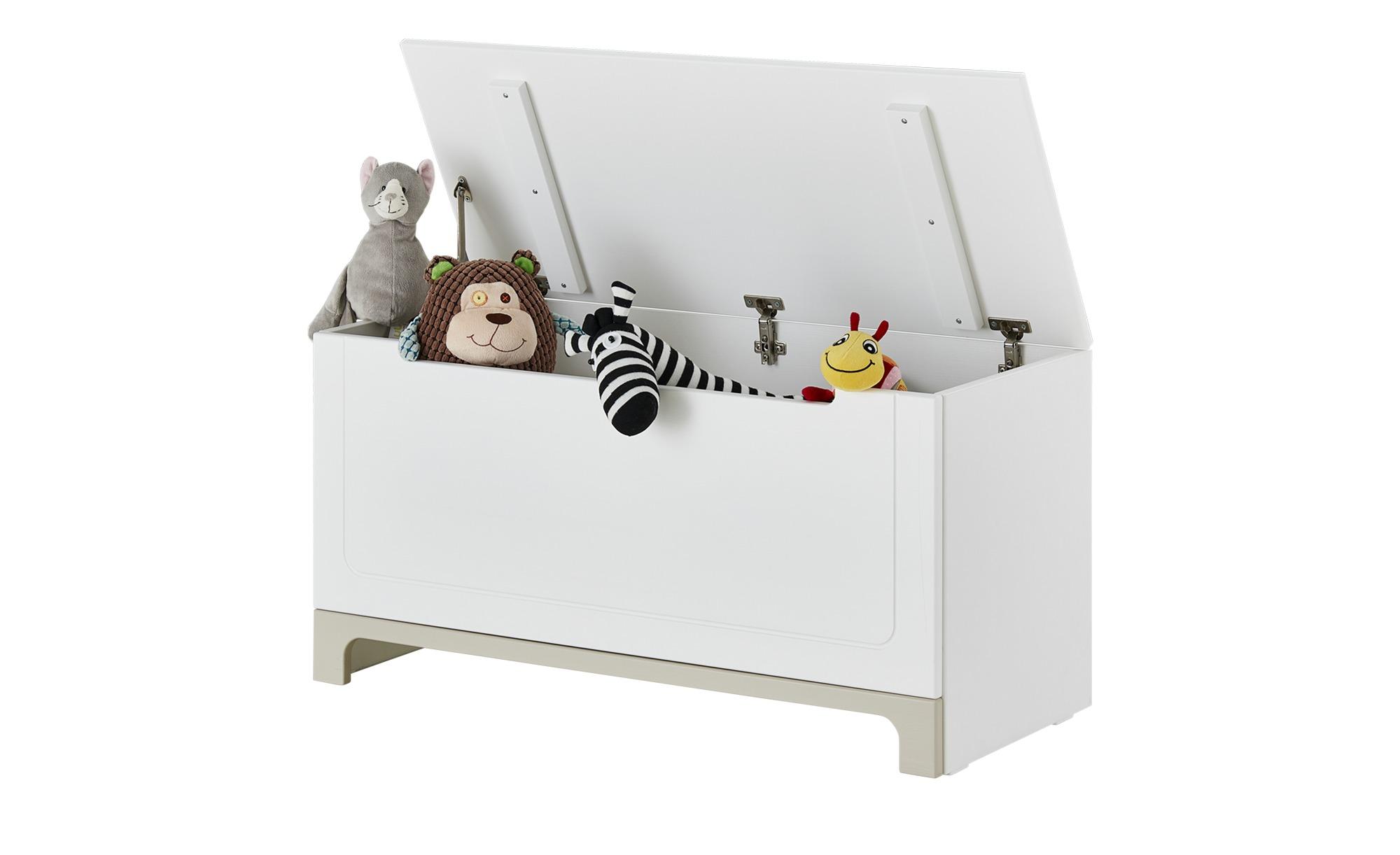 Spielzeugkiste  Mina ¦ weiß ¦ Maße (cm): B: 43 H: 50 T: 43 Aufbewahrung > Truhen & Kisten - Höffner | Kinderzimmer > Spielzeuge > Spielzeugkisten | Möbel Höffner DE