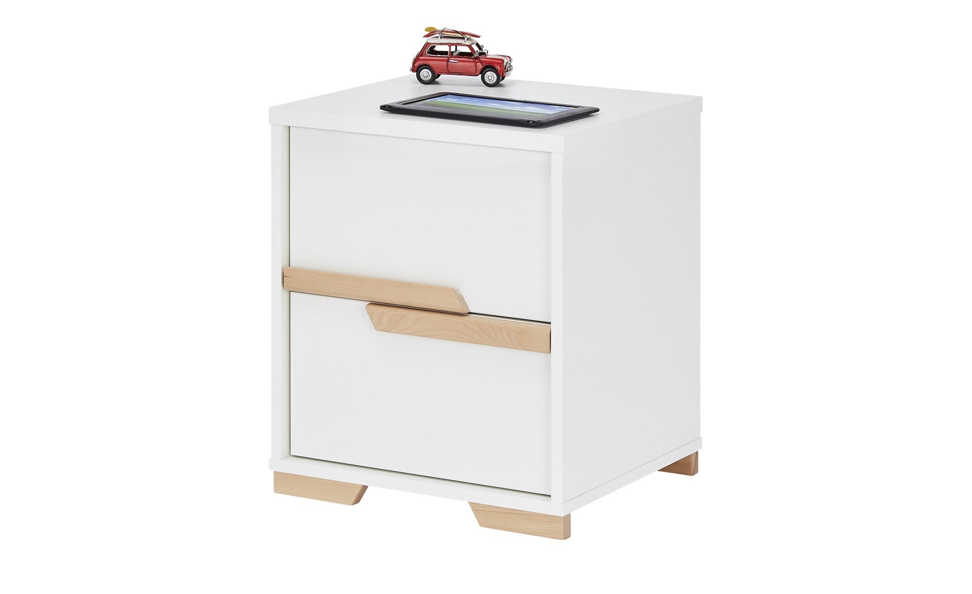 Container  Soe ¦ weiß ¦ Maße (cm): B: 44 H: 57 T: 48 Schränke > Rollcontainer - Höffner