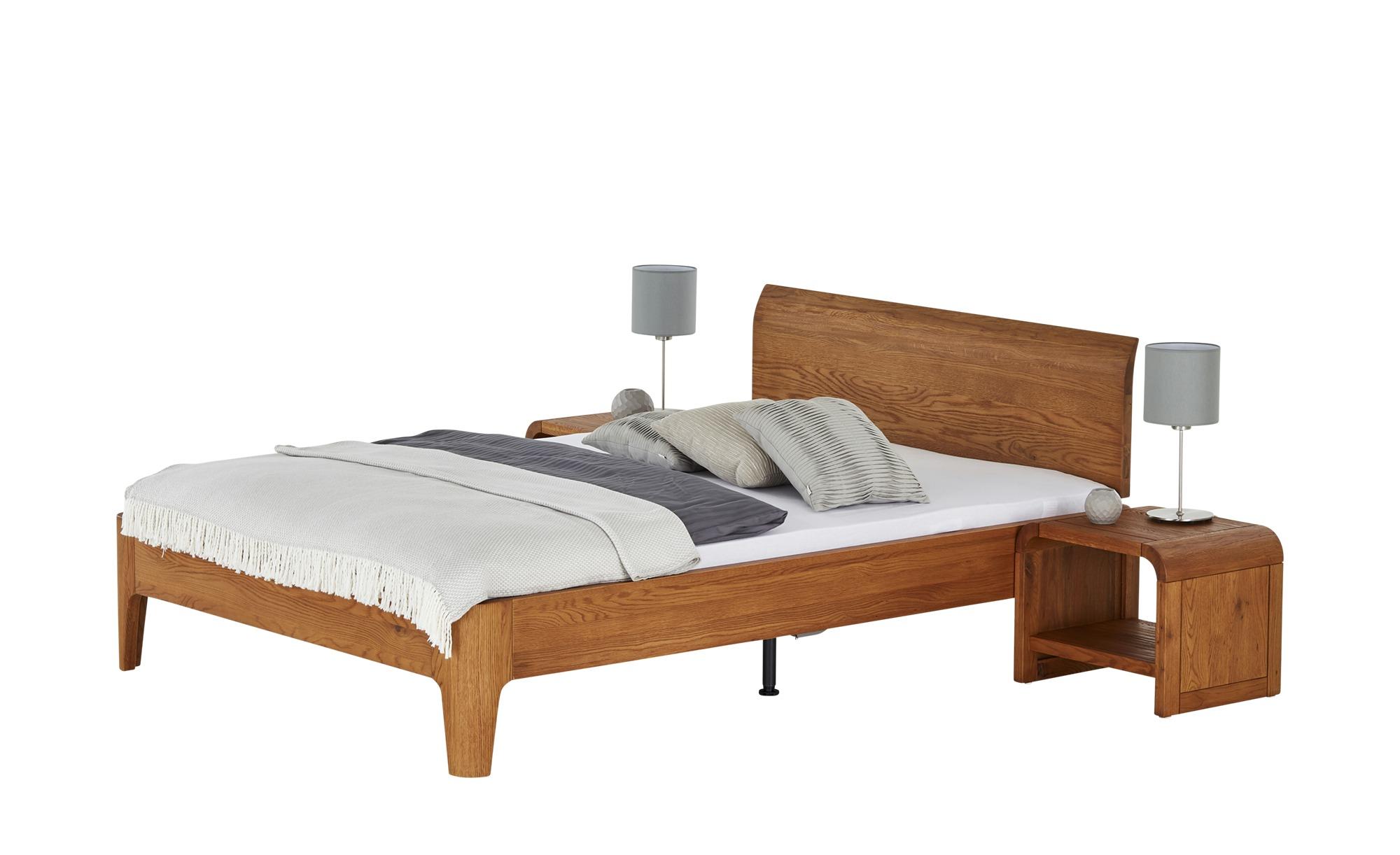 Bettgestell  Oak-Line ¦ holzfarben ¦ Maße (cm): B: 148 H: 85 Betten > Futonbetten - Höffner