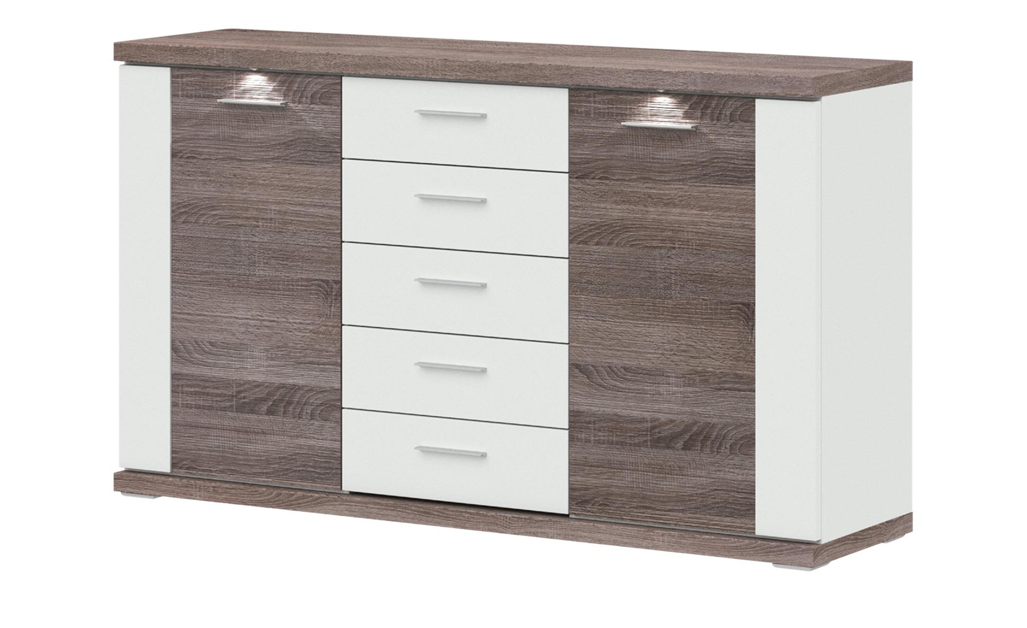 uno Sideboard  Titan ¦ holzfarben ¦ Maße (cm): B: 156 H: 91 T: 42 Kommoden & Sideboards > Sideboards - Höffner