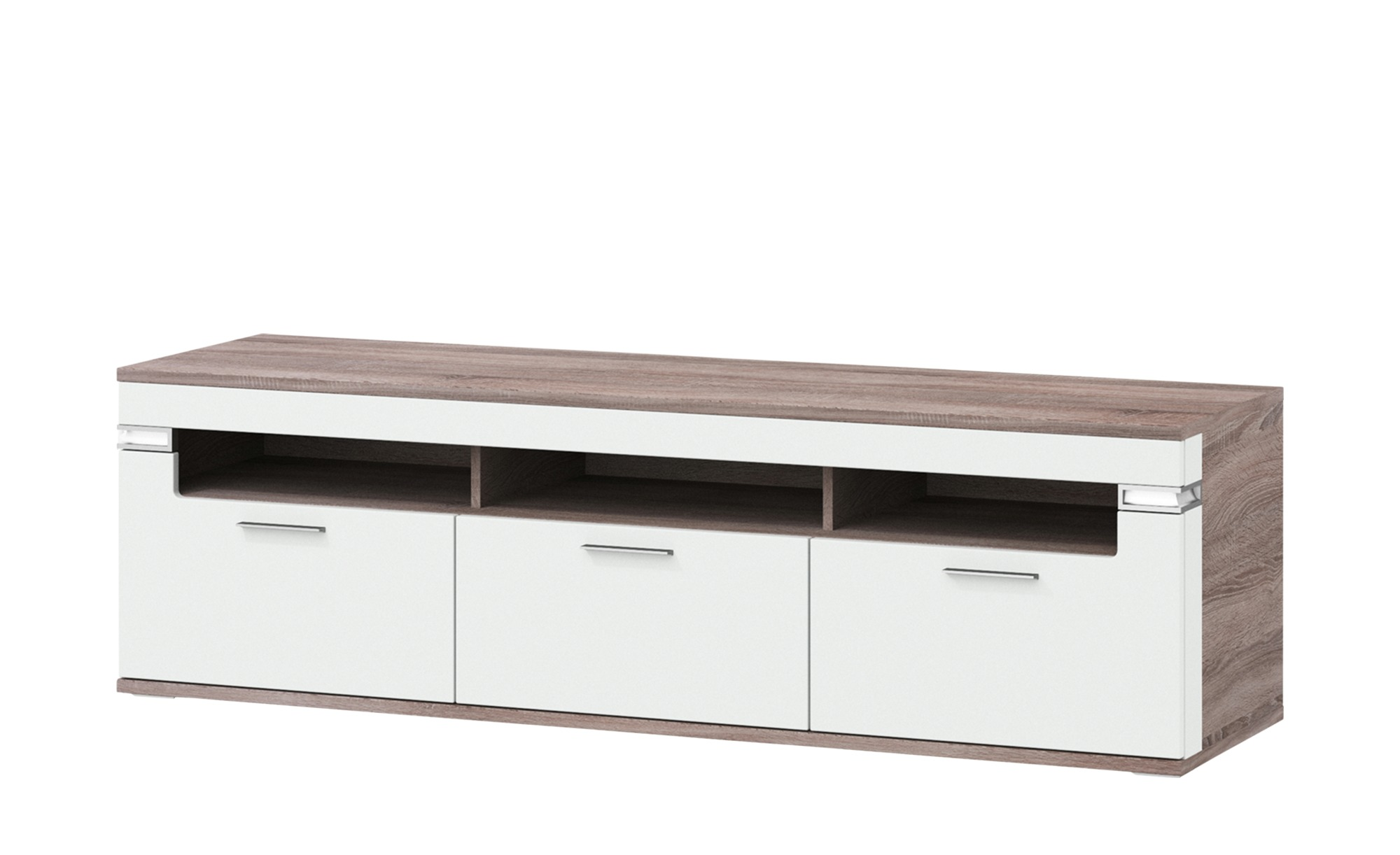 uno Lowboard  Katt ¦ weiß ¦ Maße (cm): B: 180 H: 53 T: 51 TV- & Media Möbel > TV-Racks - Höffner