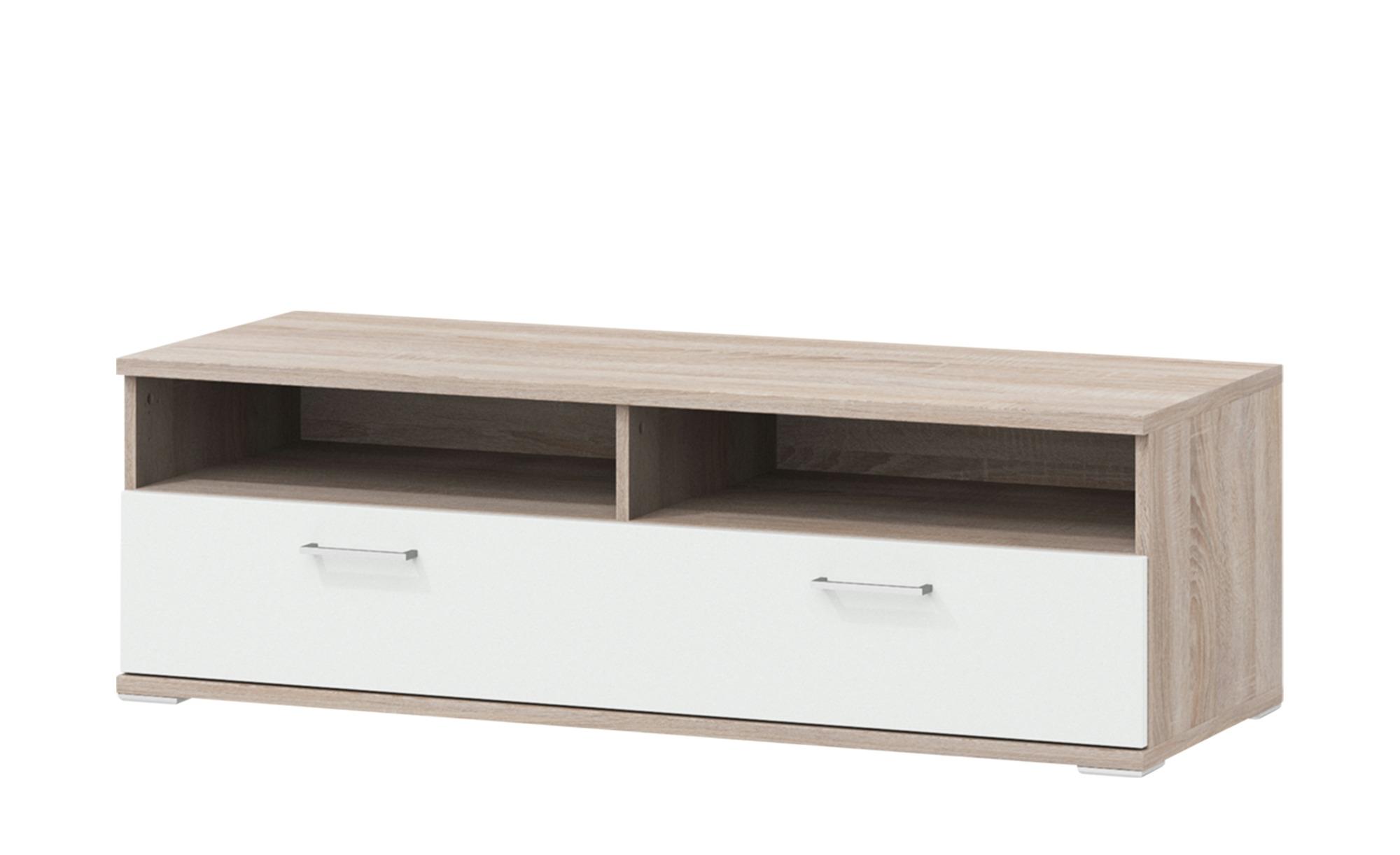 uno Lowboard  Onyx ¦ Maße (cm): B: 130 H: 42 T: 49 Kommoden & Sideboards > Lowboards - Höffner   Wohnzimmer > Schränke > Lowboards   Holzwerkstoff - Holz   Möbel Höffner DE