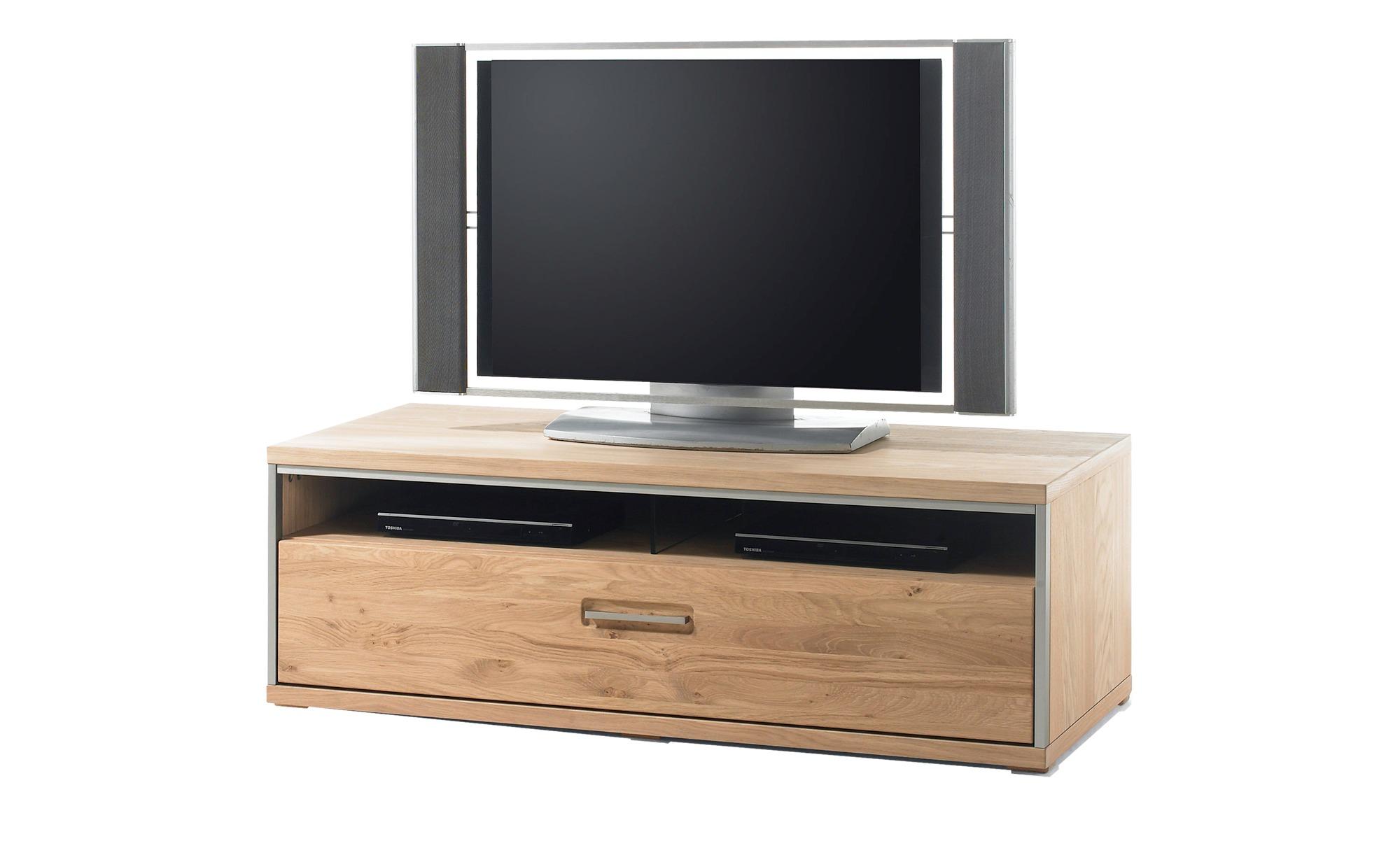 Woodford Lowboard   Duo ¦ Maße (cm): B: 124 H: 41 T: 52 Kommoden & Sideboards > Lowboards - Höffner | Wohnzimmer > Schränke | Furniert - Metall | Möbel Höffner DE