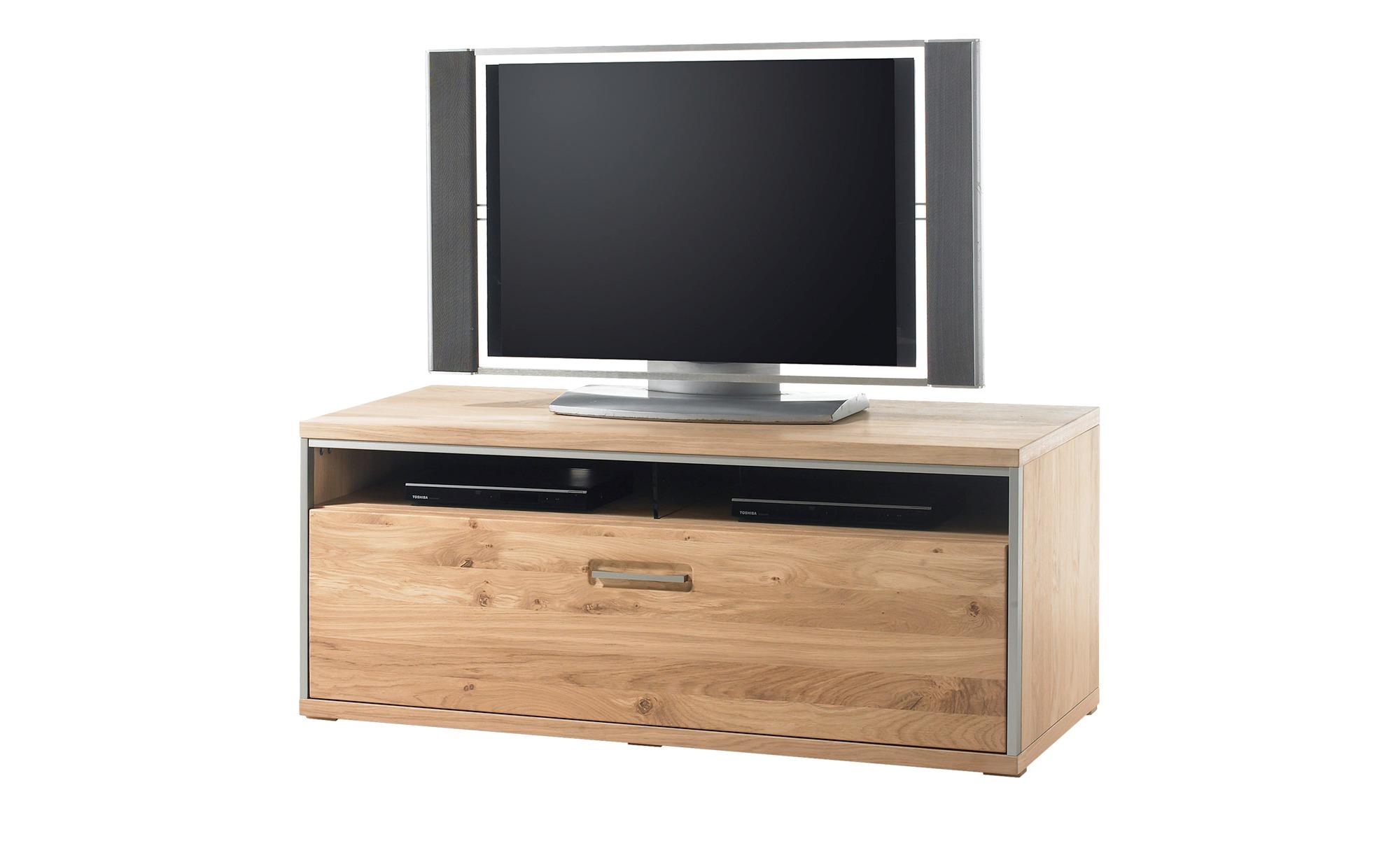 Woodford TV-Element   Duo ¦ Maße (cm): B: 124 H: 51 T: 52 Kommoden & Sideboards > Lowboards - Höffner | Wohnzimmer > TV-HiFi-Möbel | Furniert - Holz - Metall | Möbel Höffner DE