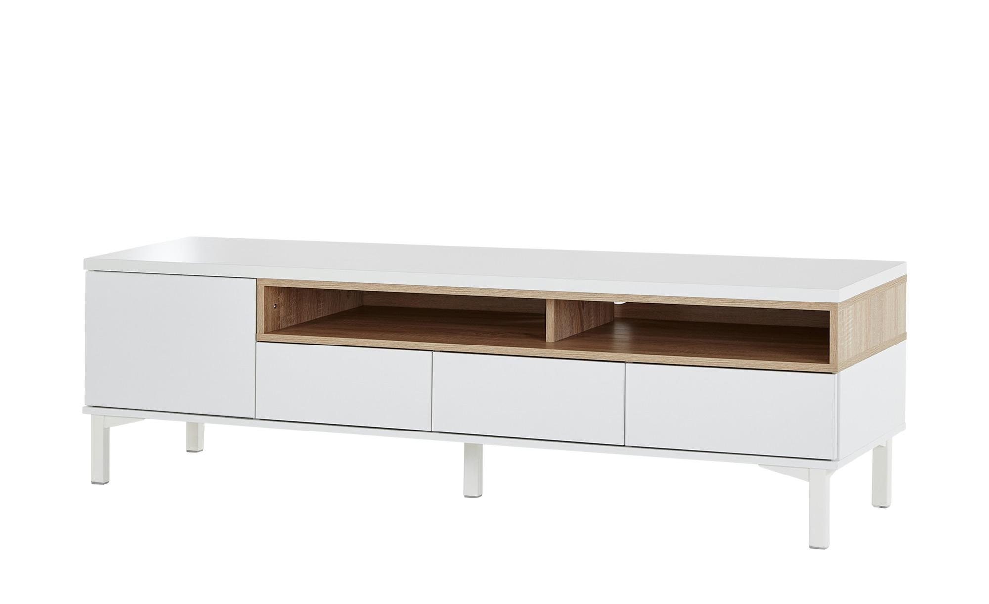 Roomers TV-Lowboard   Case ¦ weiß ¦ Maße (cm): B: 160 H: 47 T: 45 TV- & Media Möbel > TV-Racks - Höffner