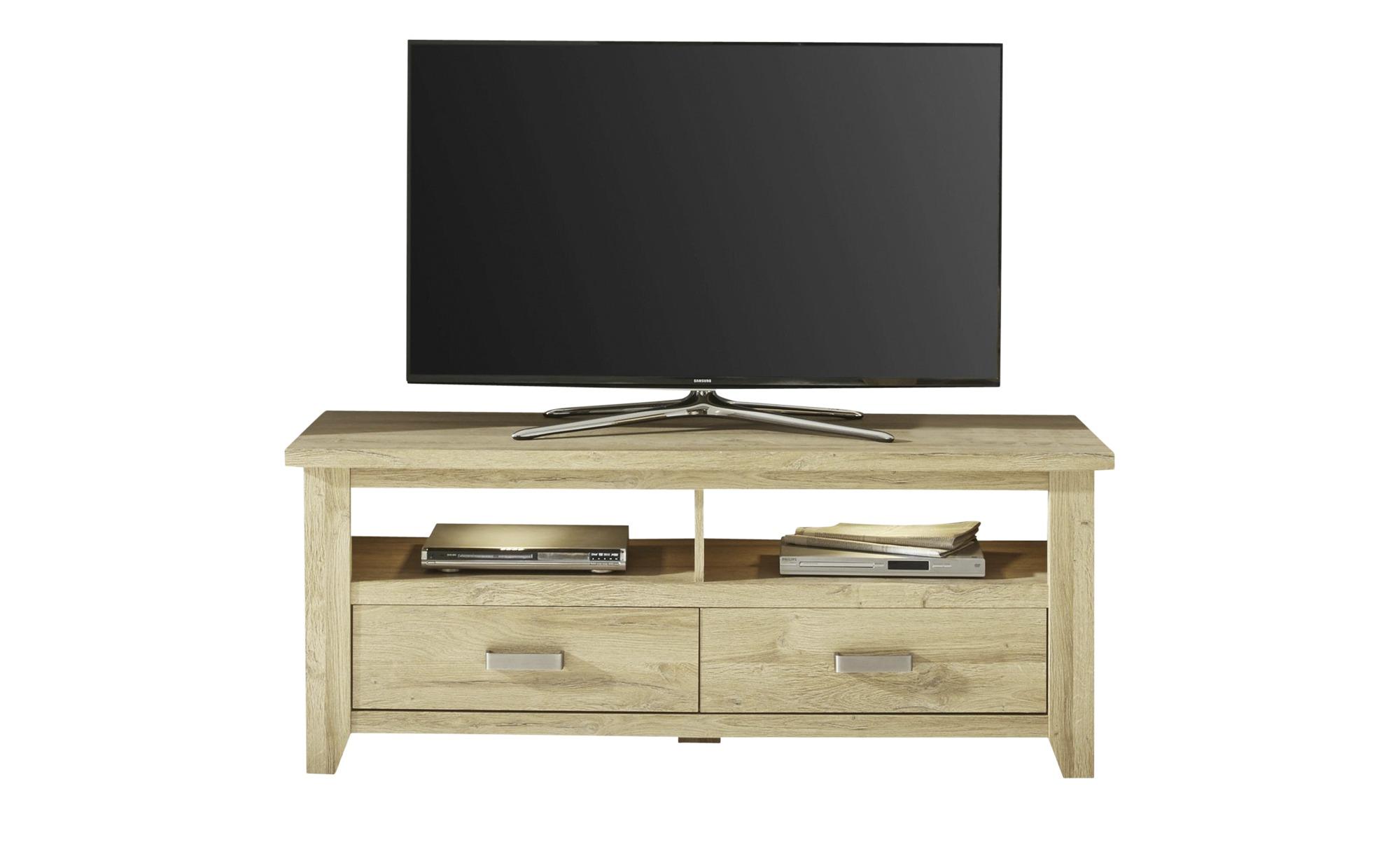 TV- Lowboard  Cosenza ¦ holzfarben ¦ Maße (cm): B: 143 H: 58 T: 48 TV- & Media Möbel > TV-Racks - Höffner | Wohnzimmer > TV-HiFi-Möbel | Möbel Höffner DE