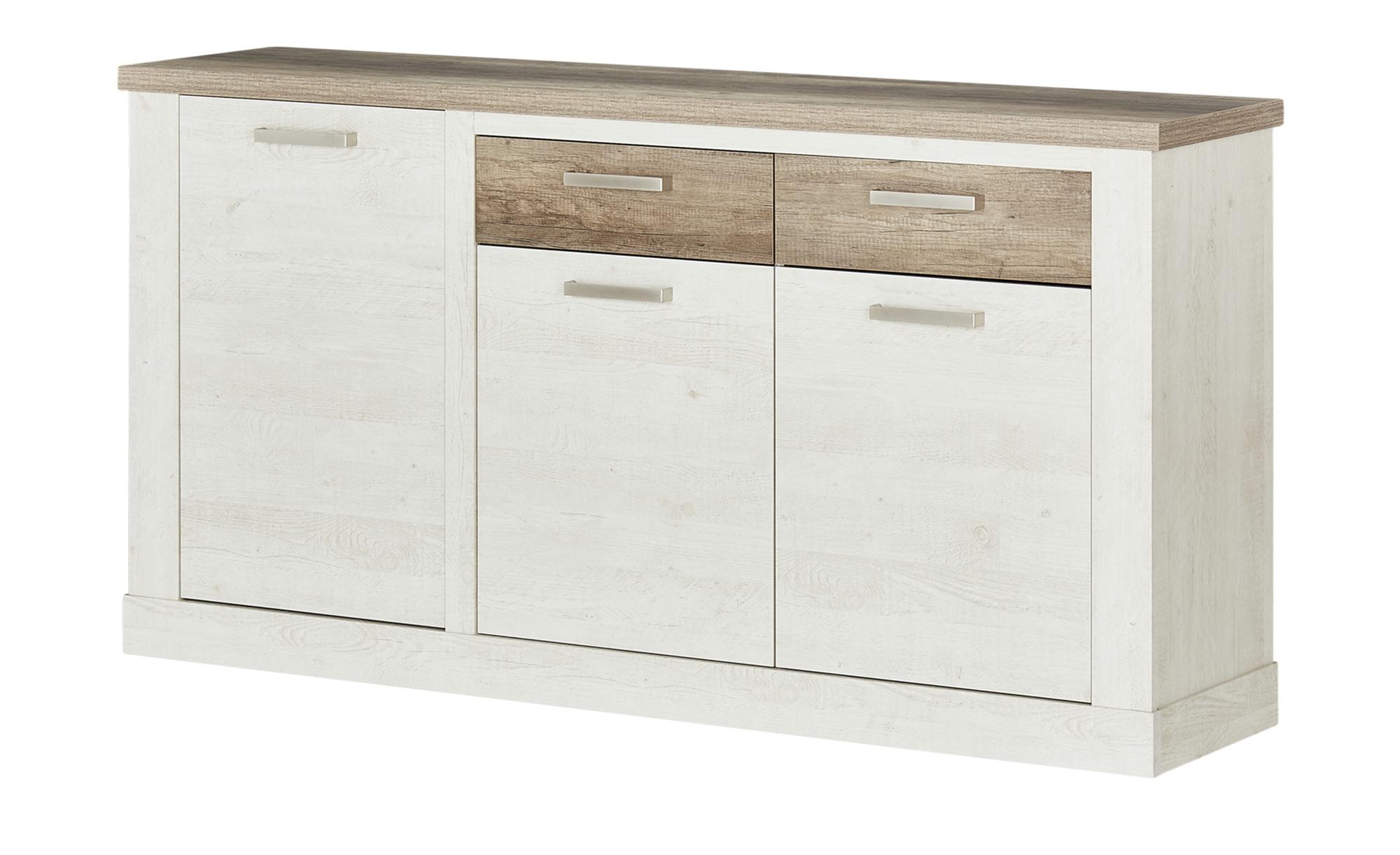 Sideboard  Viareggio ¦ weiß ¦ Maße (cm): B: 173,9 H: 90,3 T: 41,3 Kommoden & Sideboards > Sideboards - Höffner