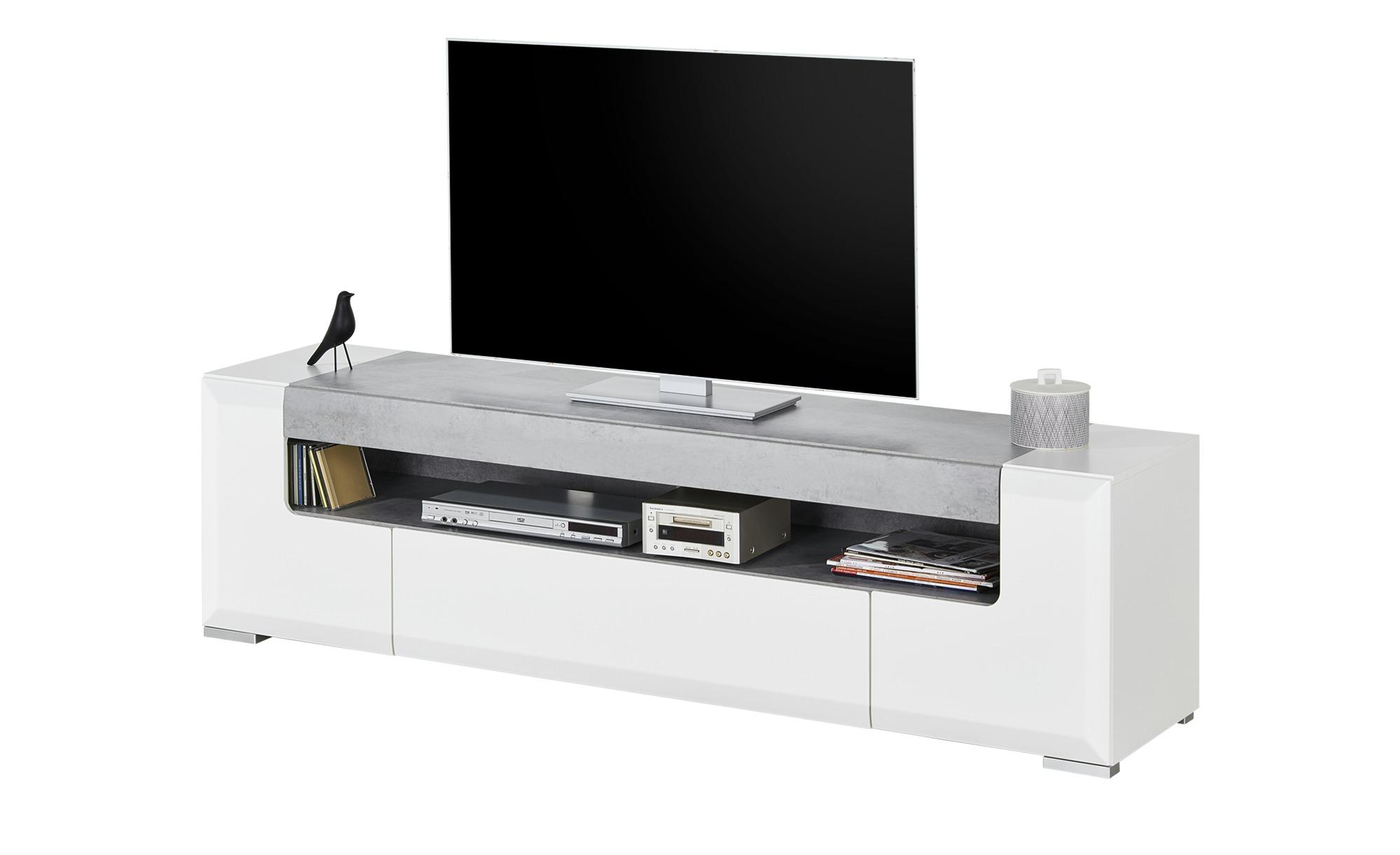 TV-Unterteil  Puro ¦ weiß ¦ Maße (cm): B: 190 H: 52 T: 45 TV- & Media Möbel > TV-Racks - Höffner