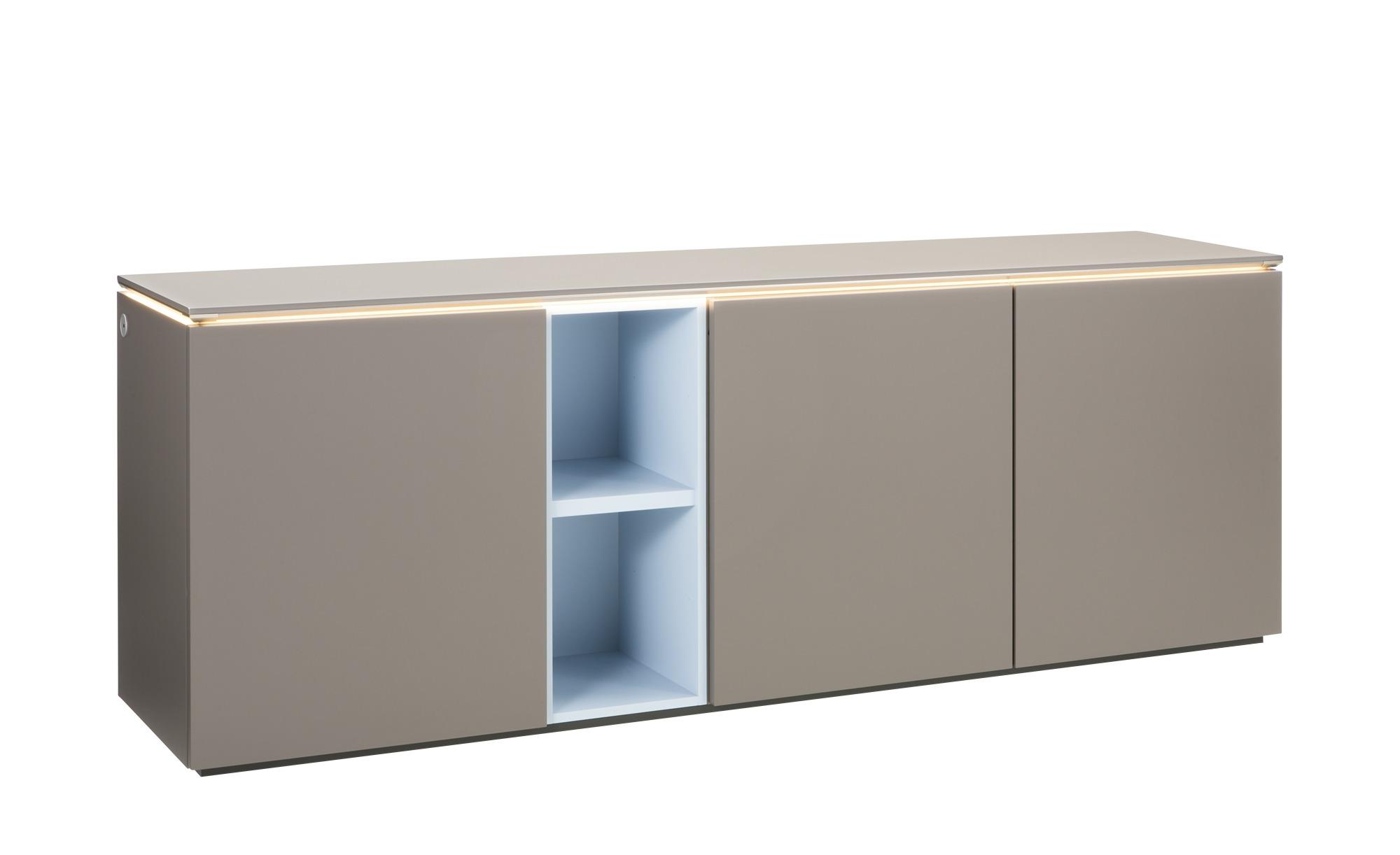 Gallery M Sideboard  Merano ¦ braun ¦ Maße (cm): B: 210 H: 75 T: 38 Kommoden & Sideboards > Sideboards - Höffner
