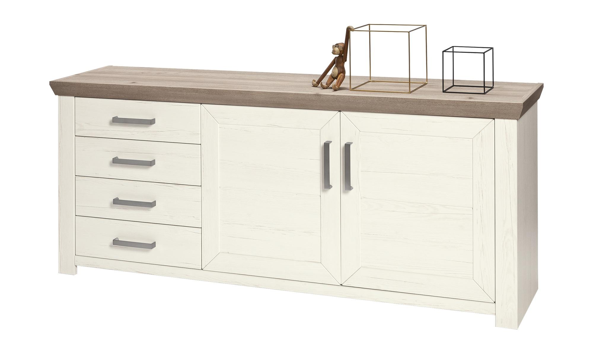 set one by Musterring Sideboard  York ¦ weiß ¦ Maße (cm): B: 185 H: 79 T: 45 Kommoden & Sideboards > Sideboards - Höffner