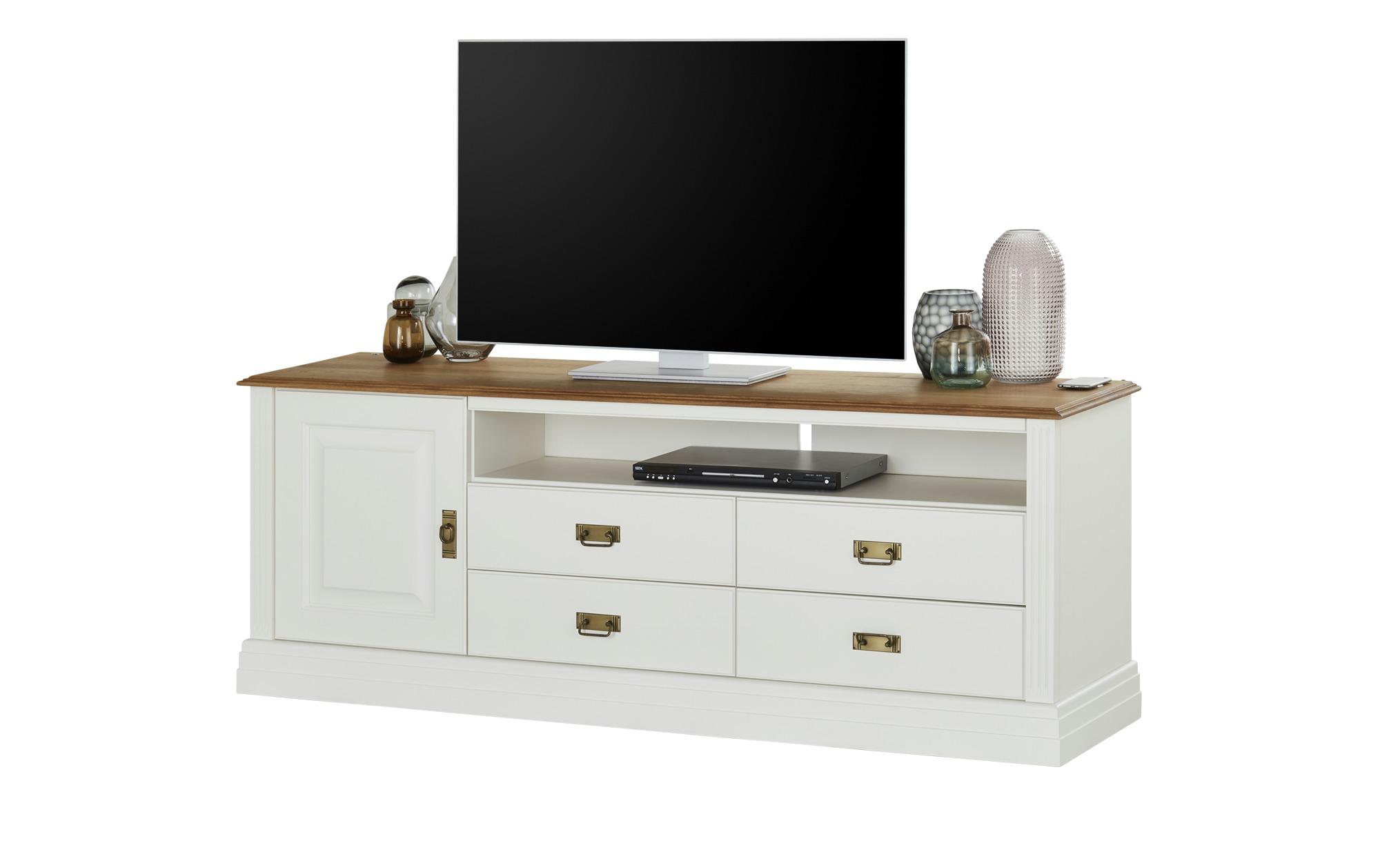 maison bleue TV-Lowboard  Lina ¦ weiß ¦ Maße (cm): B: 178 H: 67 T: 45 Kommoden & Sideboards > Lowboards - Höffner