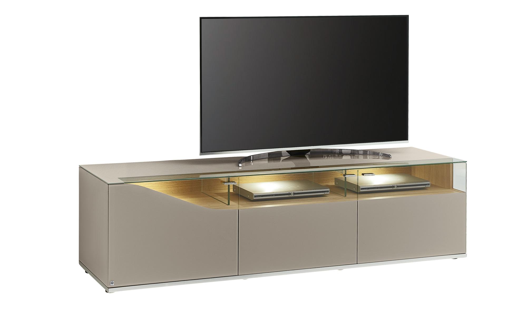 LEONARDO TV-Lowboard  Leonardo Curve ¦ Maße (cm): B: 195 H: 53 T: 52 TV- & Media Möbel > TV-Racks - Höffner
