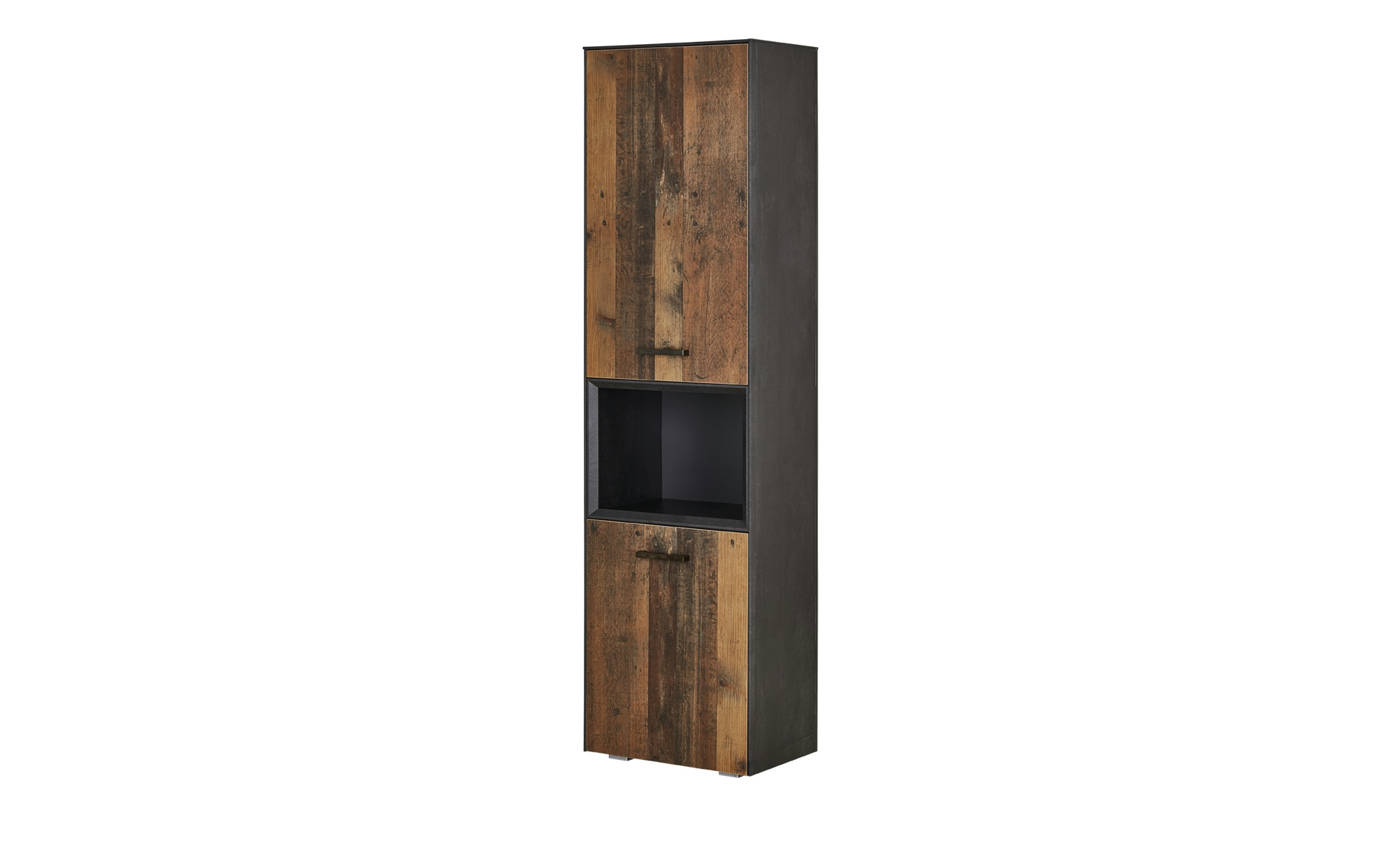 Stauraumelement  Matera ¦ holzfarben ¦ Maße (cm): B: 50 H: 195 T: 41 Kommoden & Sideboards > Highboards - Höffner