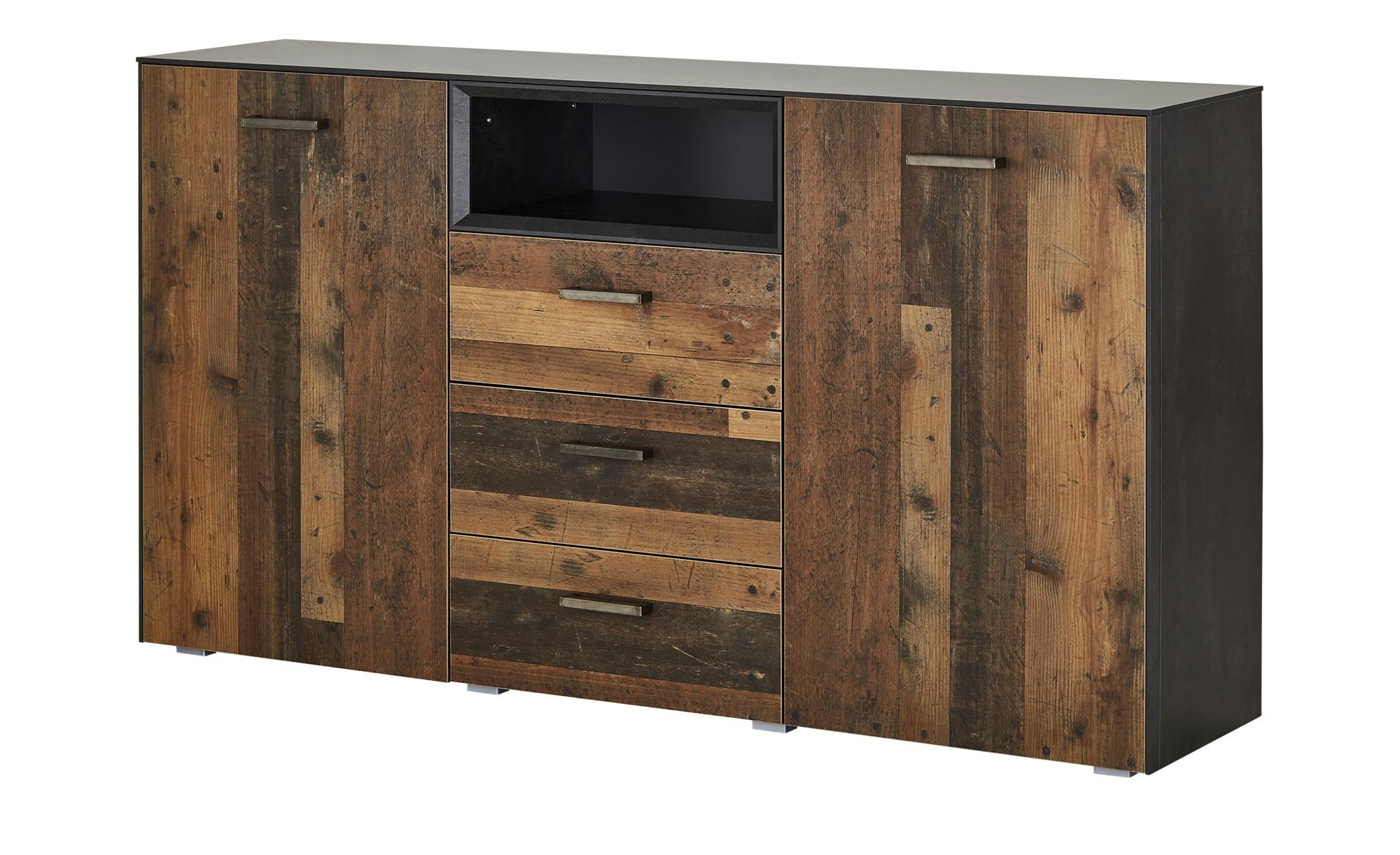 Sideboard  Matera ¦ holzfarben ¦ Maße (cm): B: 177 H: 97 T: 41 Kommoden & Sideboards > Sideboards - Höffner