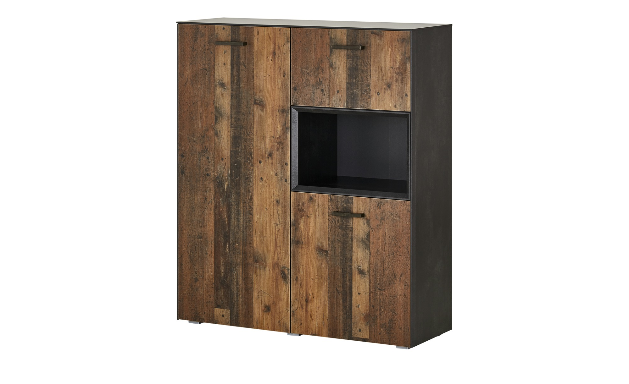 Highboard  Matera ¦ holzfarben ¦ Maße (cm): B: 118 H: 140 T: 41 Kommoden & Sideboards > Highboards - Höffner