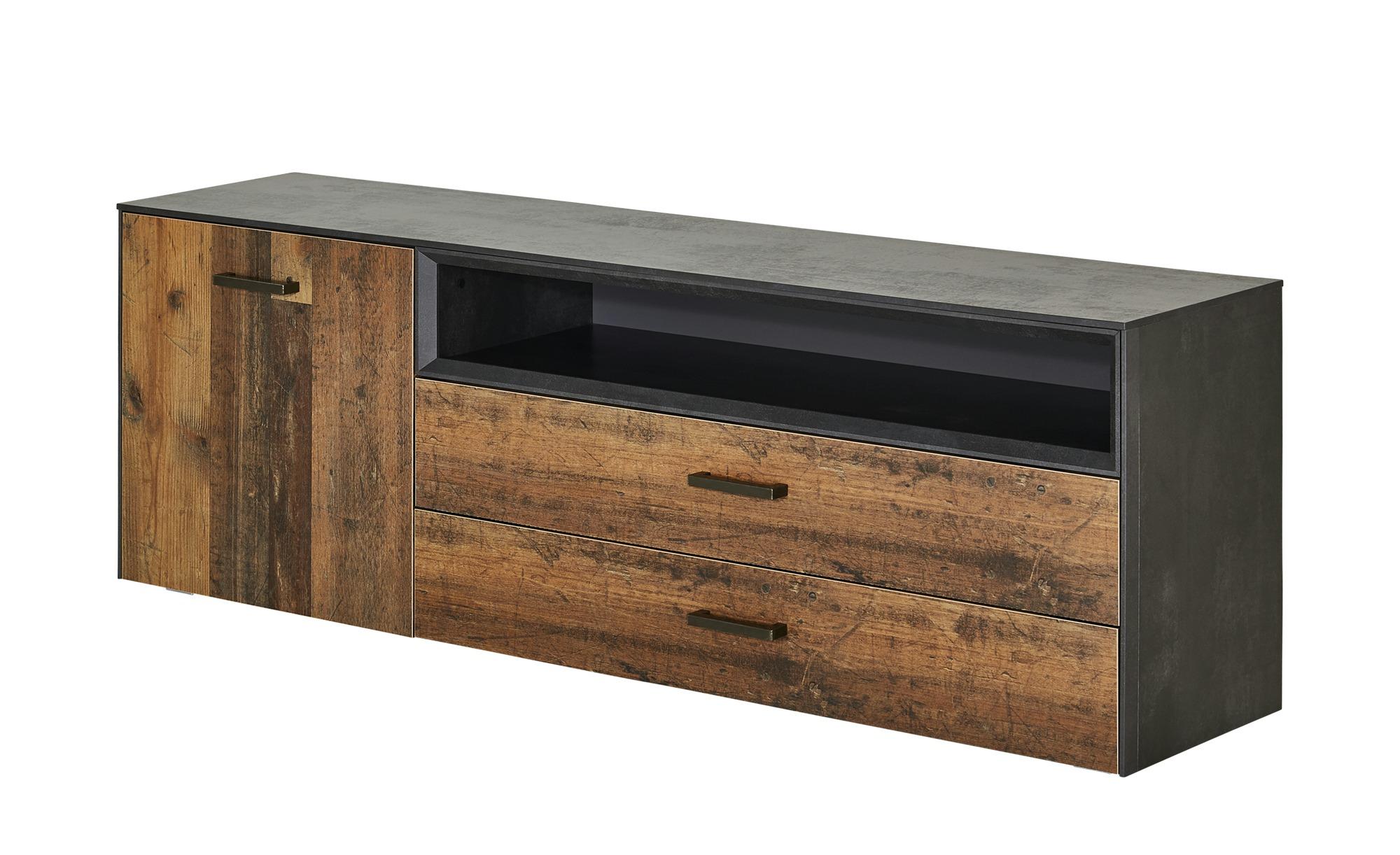 Lowboard  Matera ¦ holzfarben ¦ Maße (cm): B: 177 H: 60 T: 41 Kommoden & Sideboards > Lowboards - Höffner