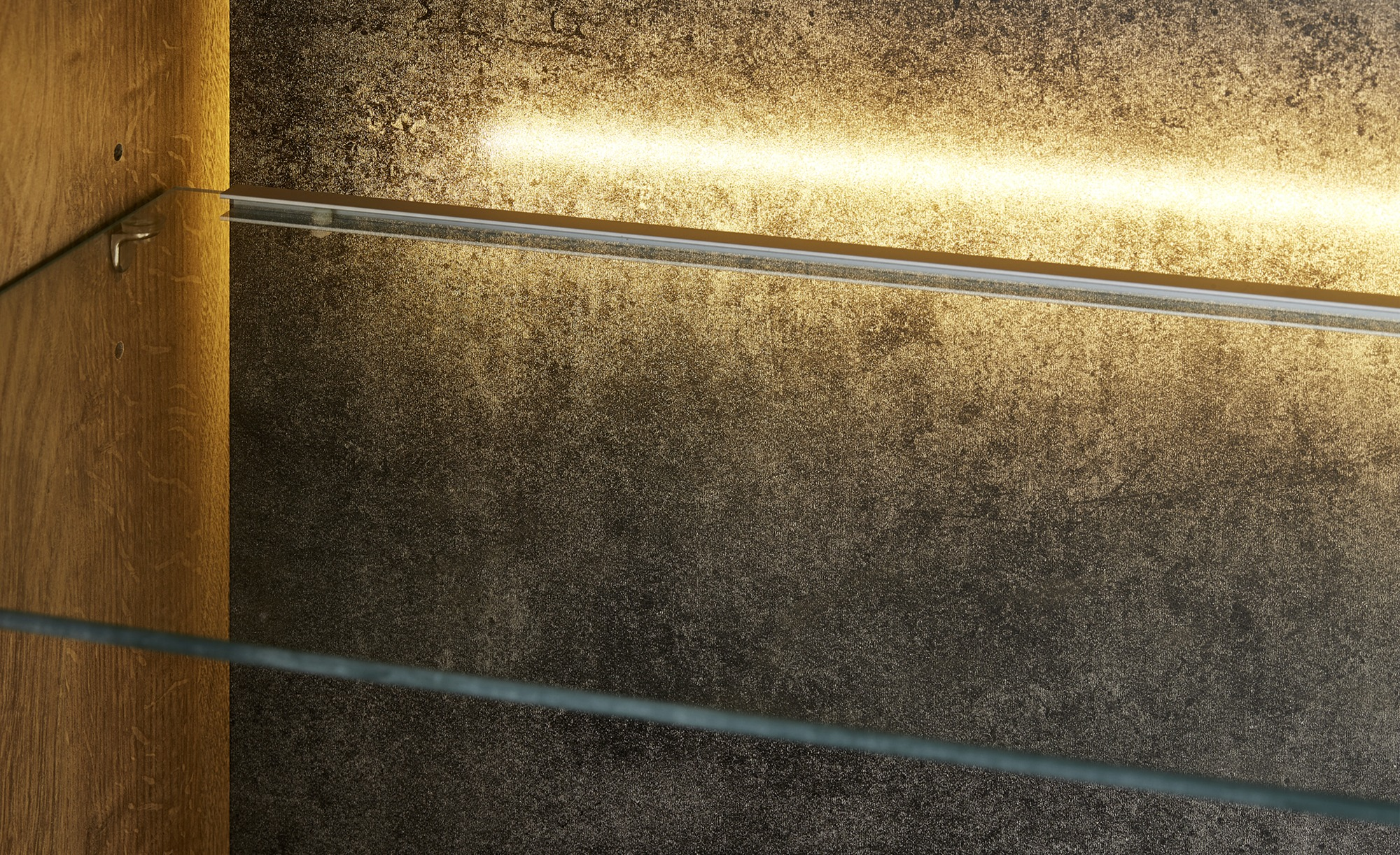 Woodford Wohnwand Beleuchtung  Gonzo Lampen & Leuchten > Innenleuchten > Möbelleuchten - Höffner
