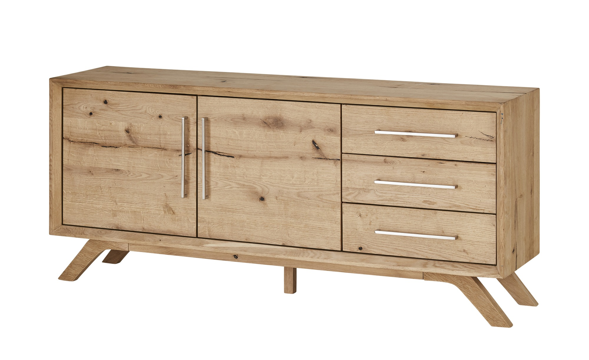 Gray & Jones Sideboard  Cap Ferrat ¦ holzfarben ¦ Maße (cm): B: 180 H: 78 T: 43 Kommoden & Sideboards > Sideboards - Höffner
