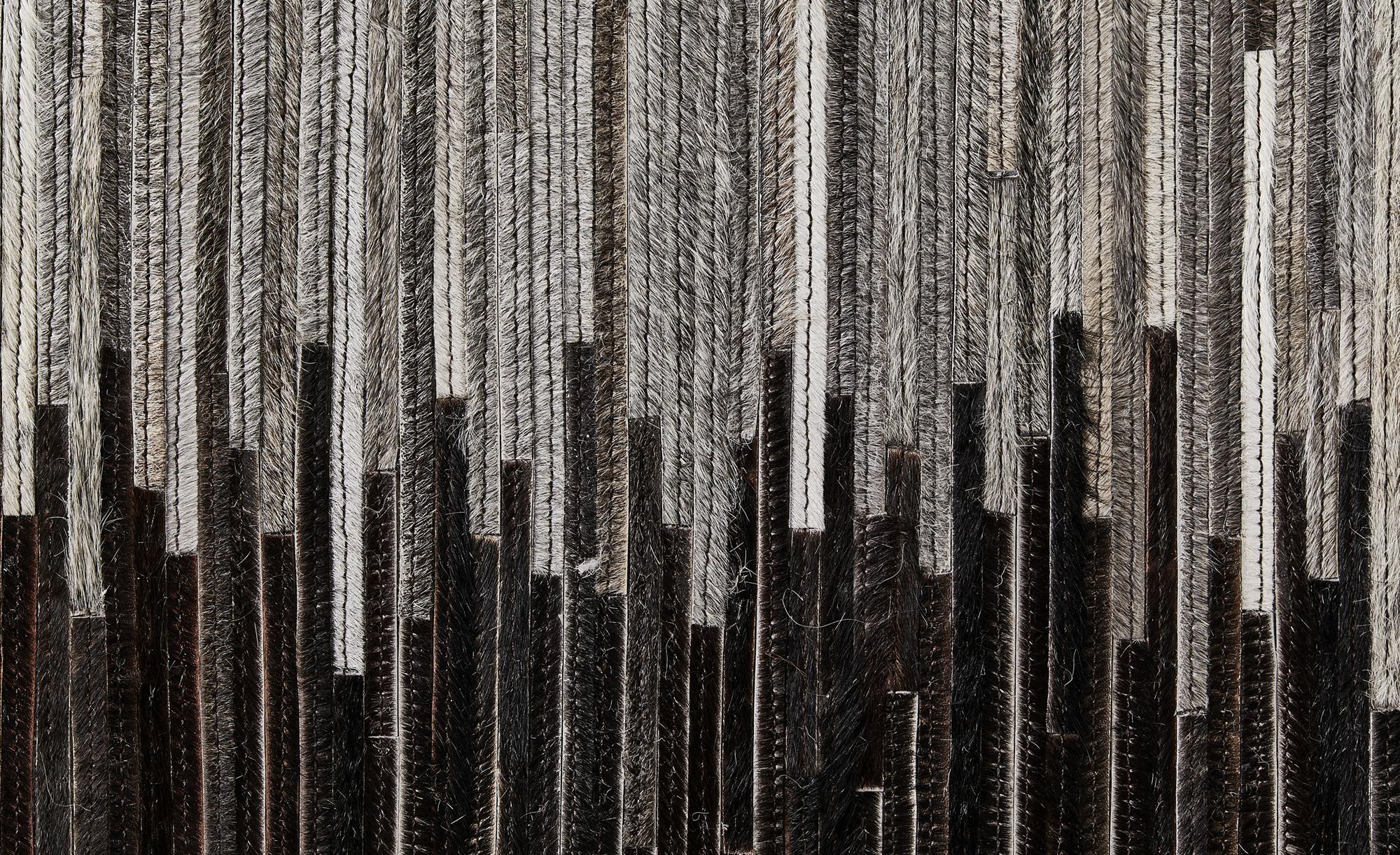 Gray & Jones Lederteppich ¦ schwarz ¦ Maße (cm): B: 160 Teppiche > Wohnteppiche - Höffner