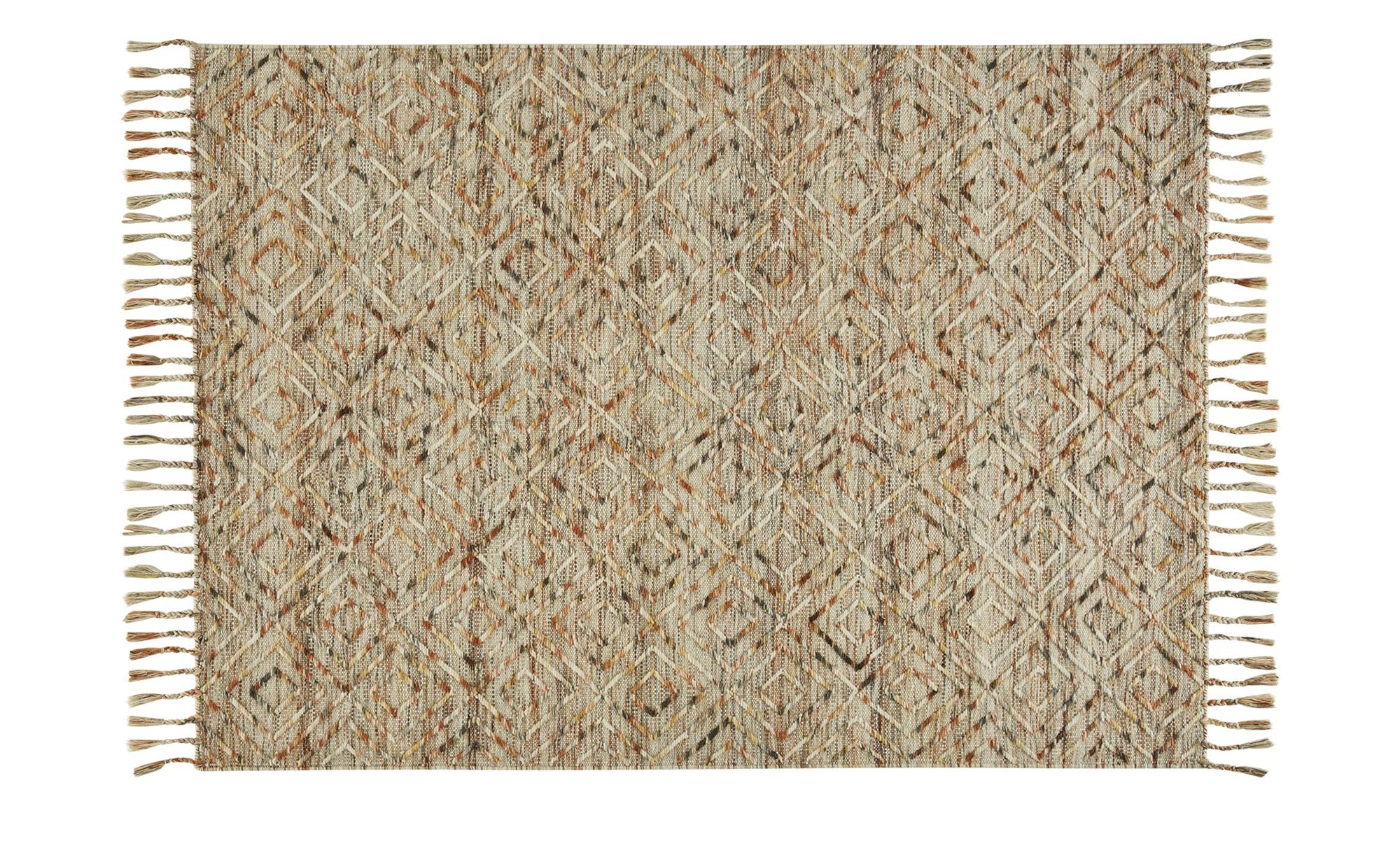 Gray & Jones Handwebteppich ¦ creme ¦ Maße (cm): B: 160 Teppiche > Wohnteppiche - Höffner
