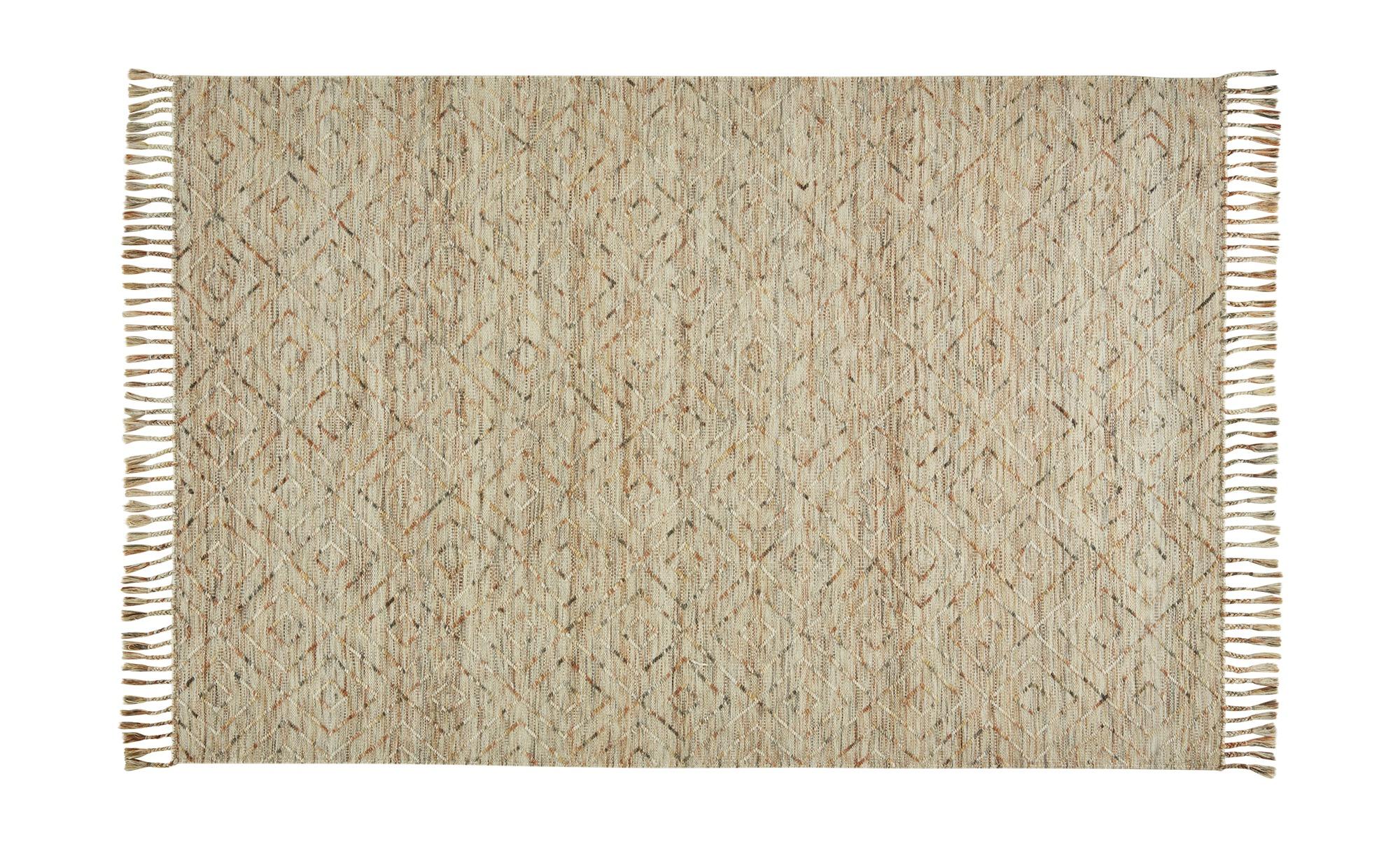 Gray & Jones Handwebteppich ¦ mehrfarbig ¦ Maße (cm): B: 200 Teppiche > Wohnteppiche - Höffner