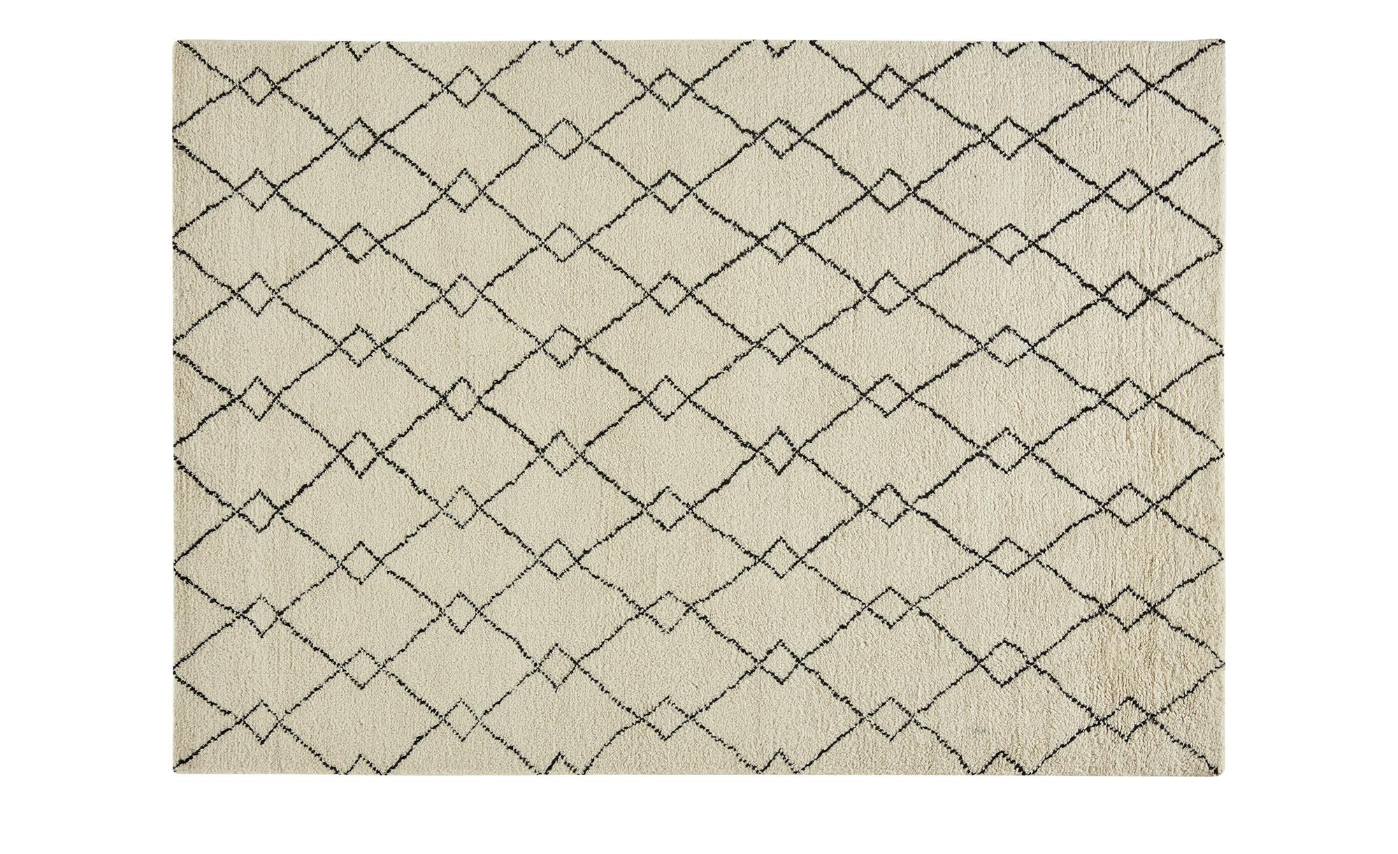 Gray & Jones Handwebteppich ¦ beige ¦ Maße (cm): B: 200 Teppiche > Wohnteppiche - Höffner