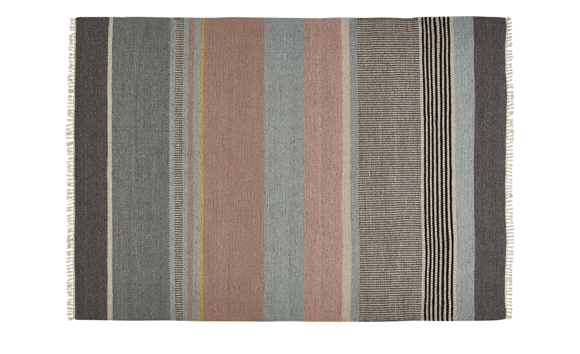 Gray & Jones Flachgewebeteppich ¦ mehrfarbig ¦ Maße (cm): B: 160 Teppiche > Auslegware - Höffner
