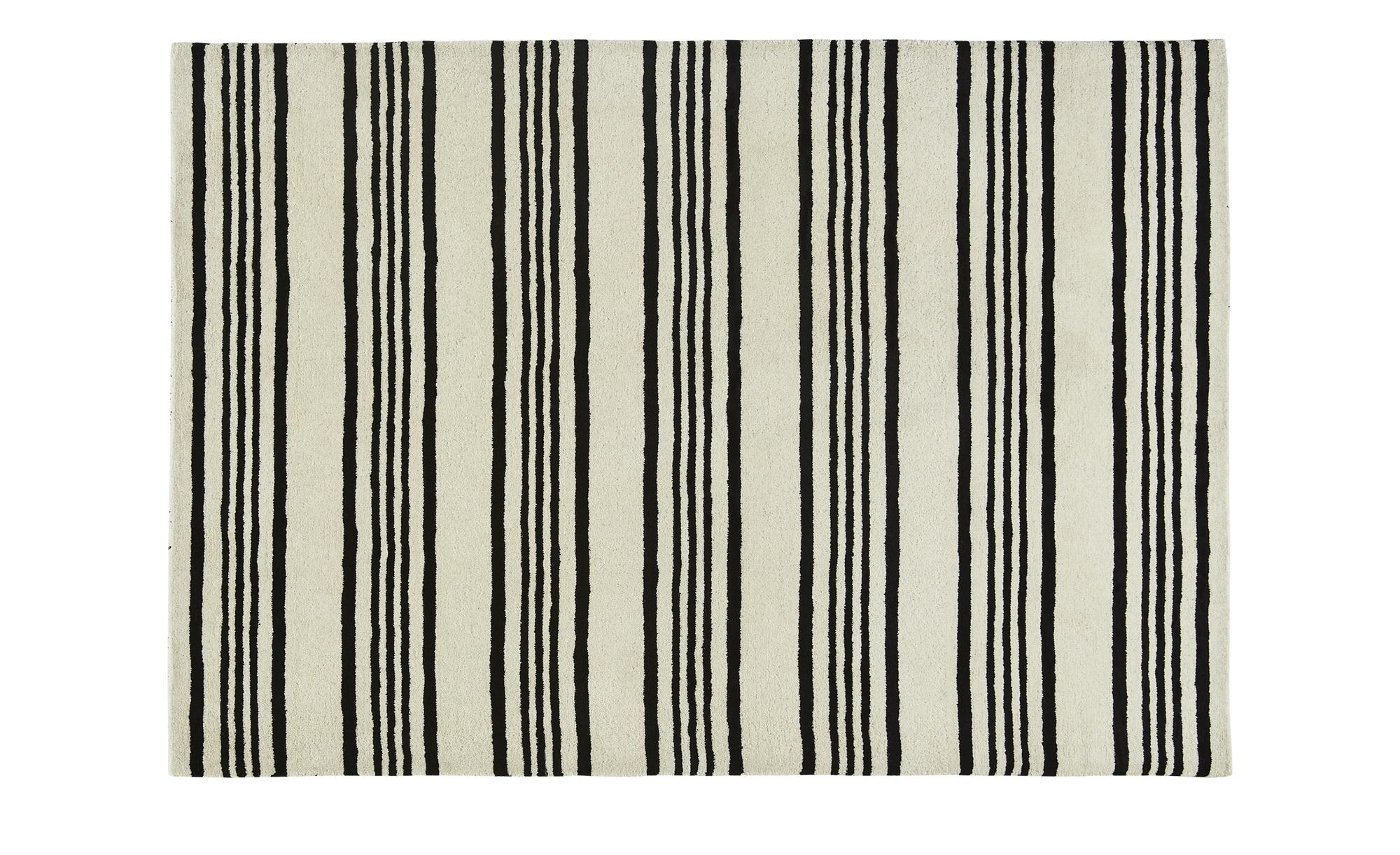Gray & Jones Handtuft-Teppich  Cap Ferrat 2 ¦ schwarz ¦ Maße (cm): B: 160 Teppiche > Wohnteppiche - Höffner