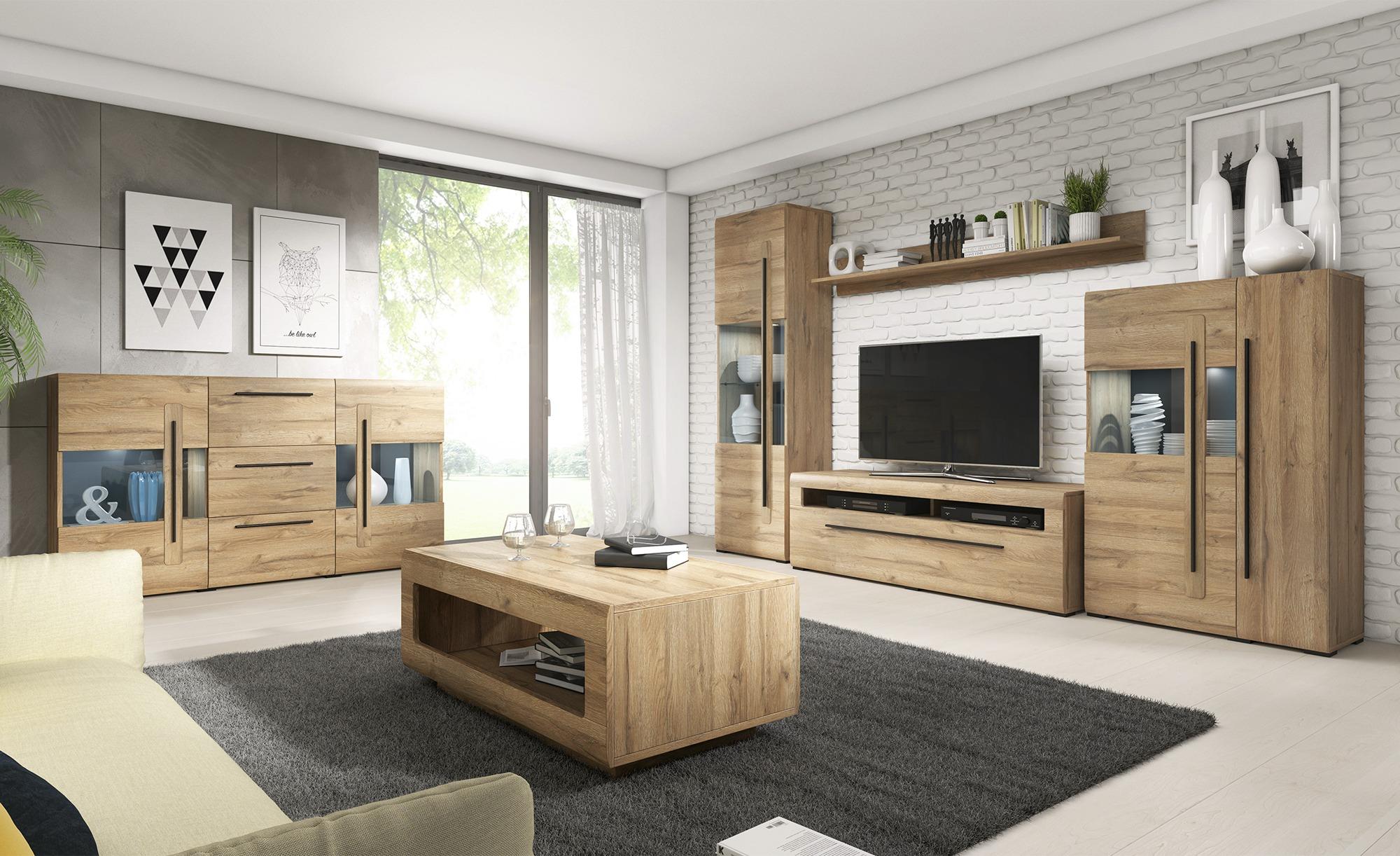 TV-Lowboard  Ardea ¦ holzfarben ¦ Maße (cm): B: 160 H: 52 T: 50 TV- & Media Möbel > TV-Racks - Höffner
