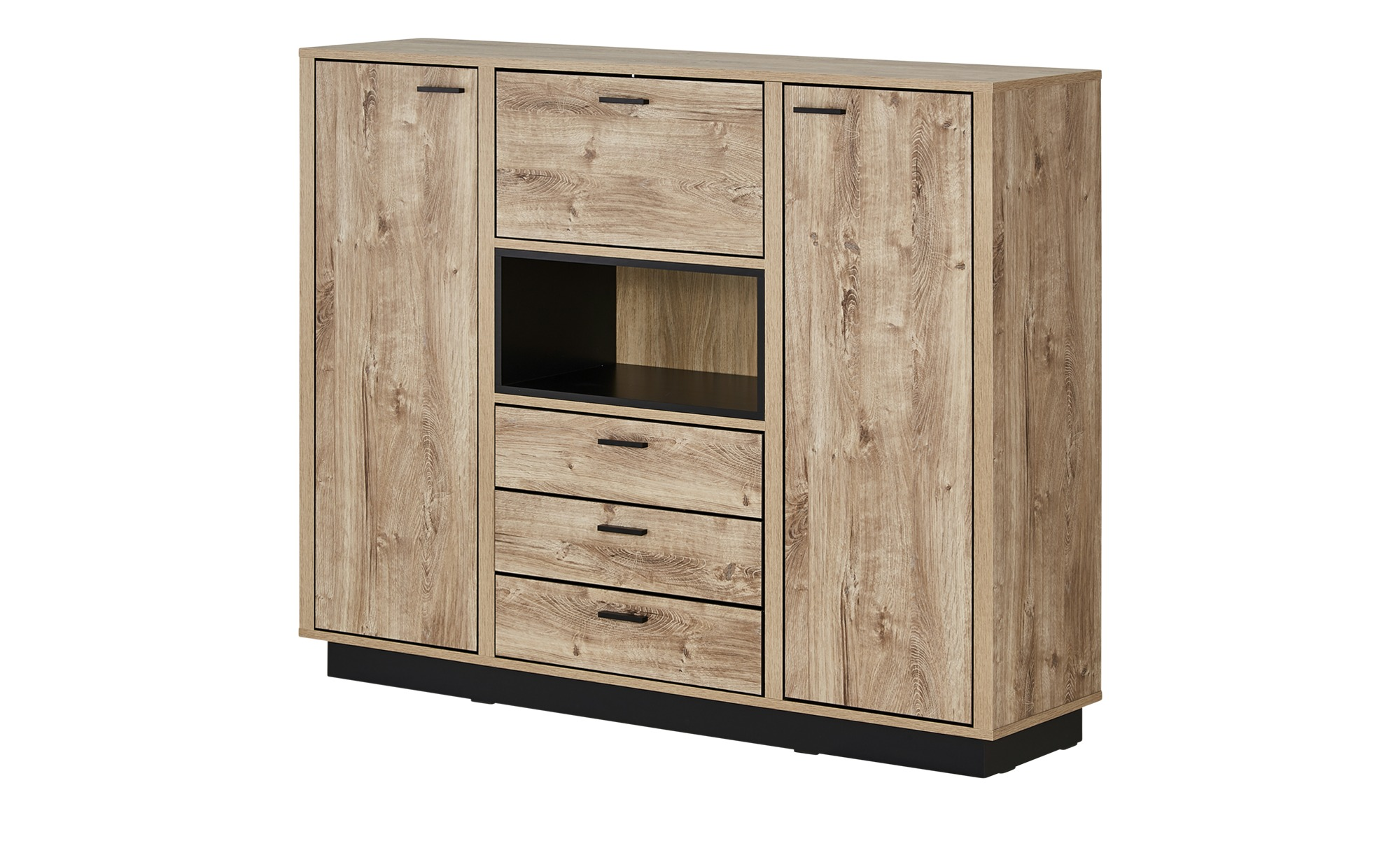 Highboard  Apriliana ¦ holzfarben ¦ Maße (cm): B: 157 H: 124 T: 40 Kommoden & Sideboards > Highboards - Höffner