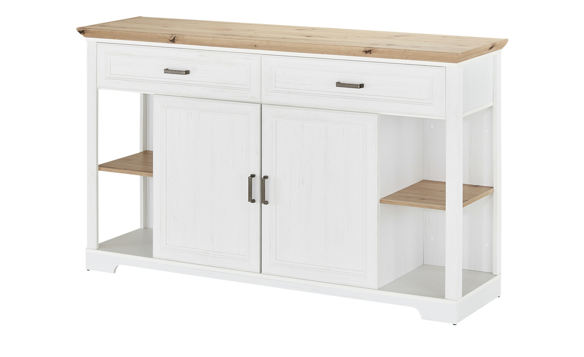 Sideboard  Varese ¦ weiß ¦ Maße (cm): B: 171 H: 102 T: 48 Kommoden & Sideboards > Sideboards - Höffner