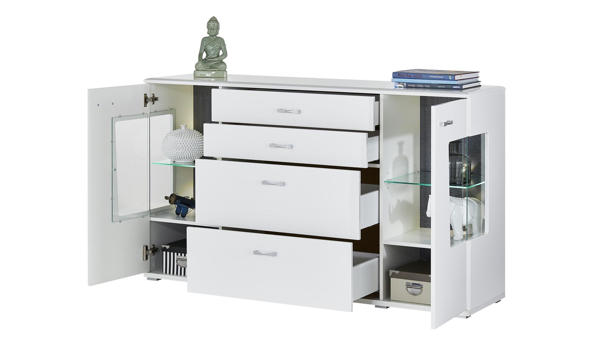 uno Sideboard  Alibaba ¦ Maße (cm): B: 160 H: 93 T: 42 Kommoden & Sideboards > Sideboards - Höffner