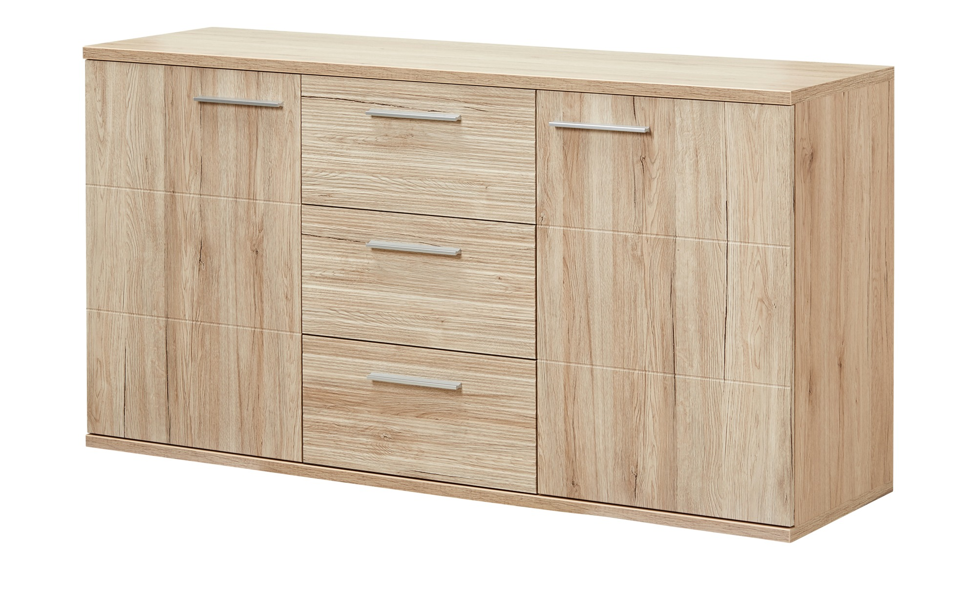 uno Sideboard  Salino ¦ holzfarben ¦ Maße (cm): B: 157,5 H: 81,7 T: 46 Kommoden & Sideboards > Sideboards - Höffner