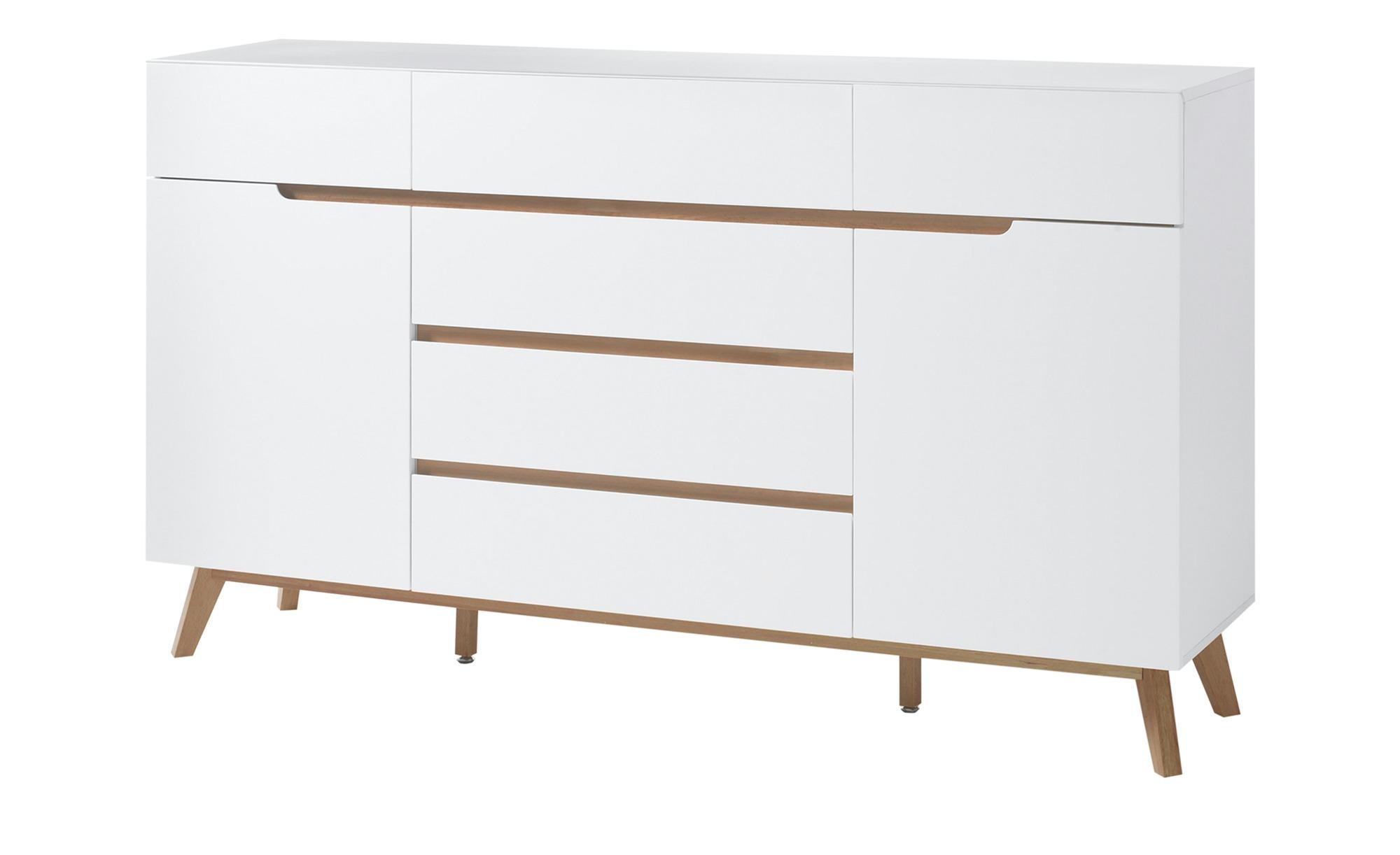 Sideboard  Casoria ¦ weiß ¦ Maße (cm): B: 169 H: 101 T: 41 Kommoden & Sideboards > Sideboards - Höffner